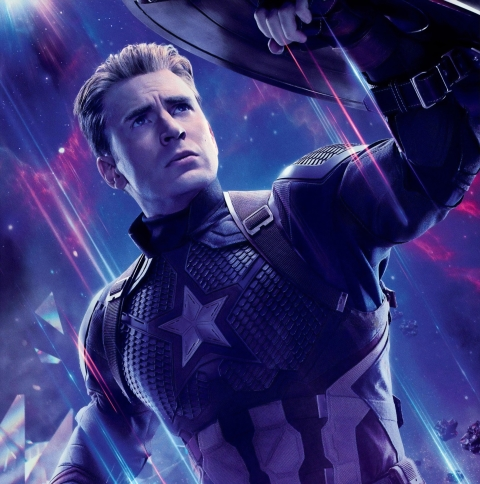 480x484 Captain America in Avengers Endgame Android One ...