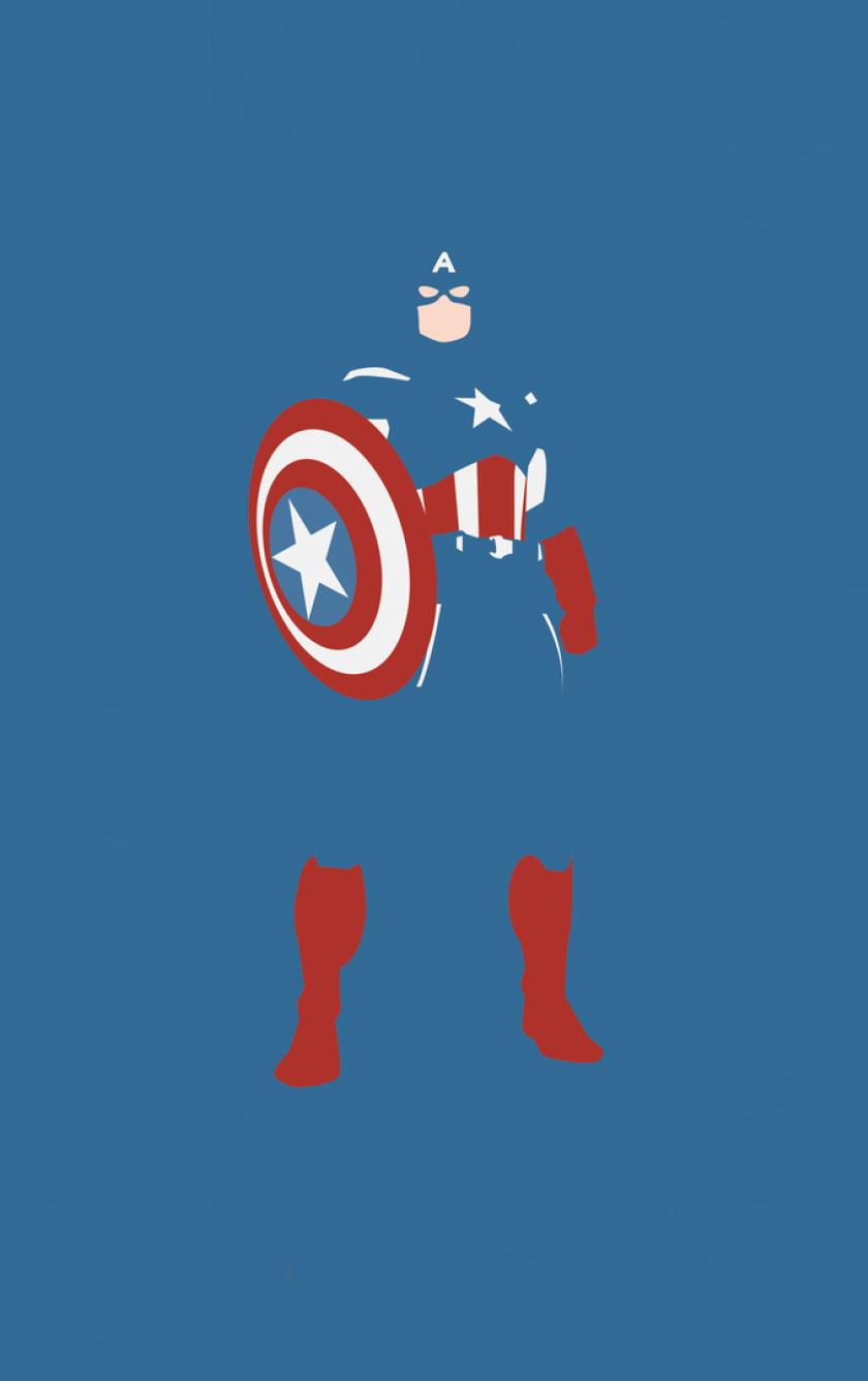 Captain america marvel comics minimalism full hd wallpaper iphone 4 voltagebd Gallery