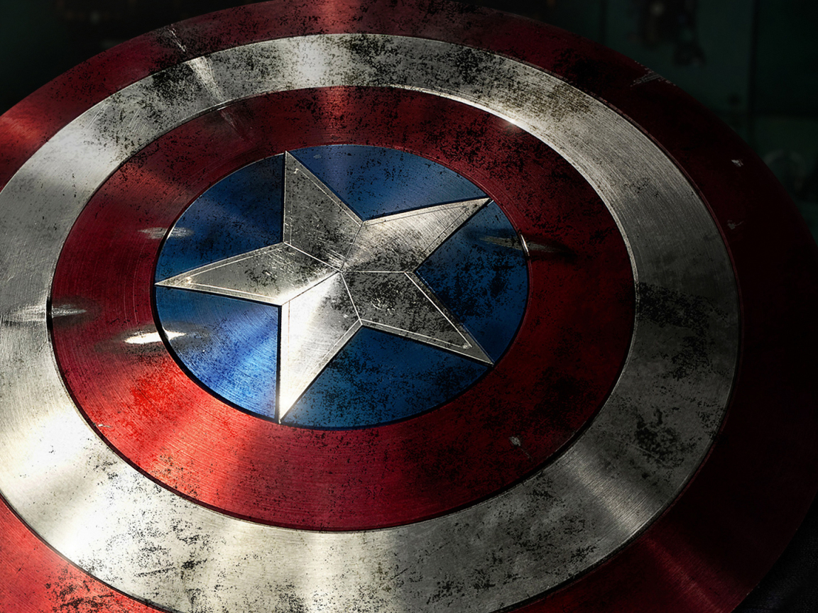 Captain America Shield Photoshoot  Full Hd Wallpaper