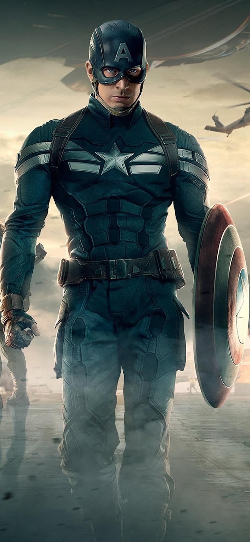 1080x2340 Captain America Team wallpapers 1080x2340 ...