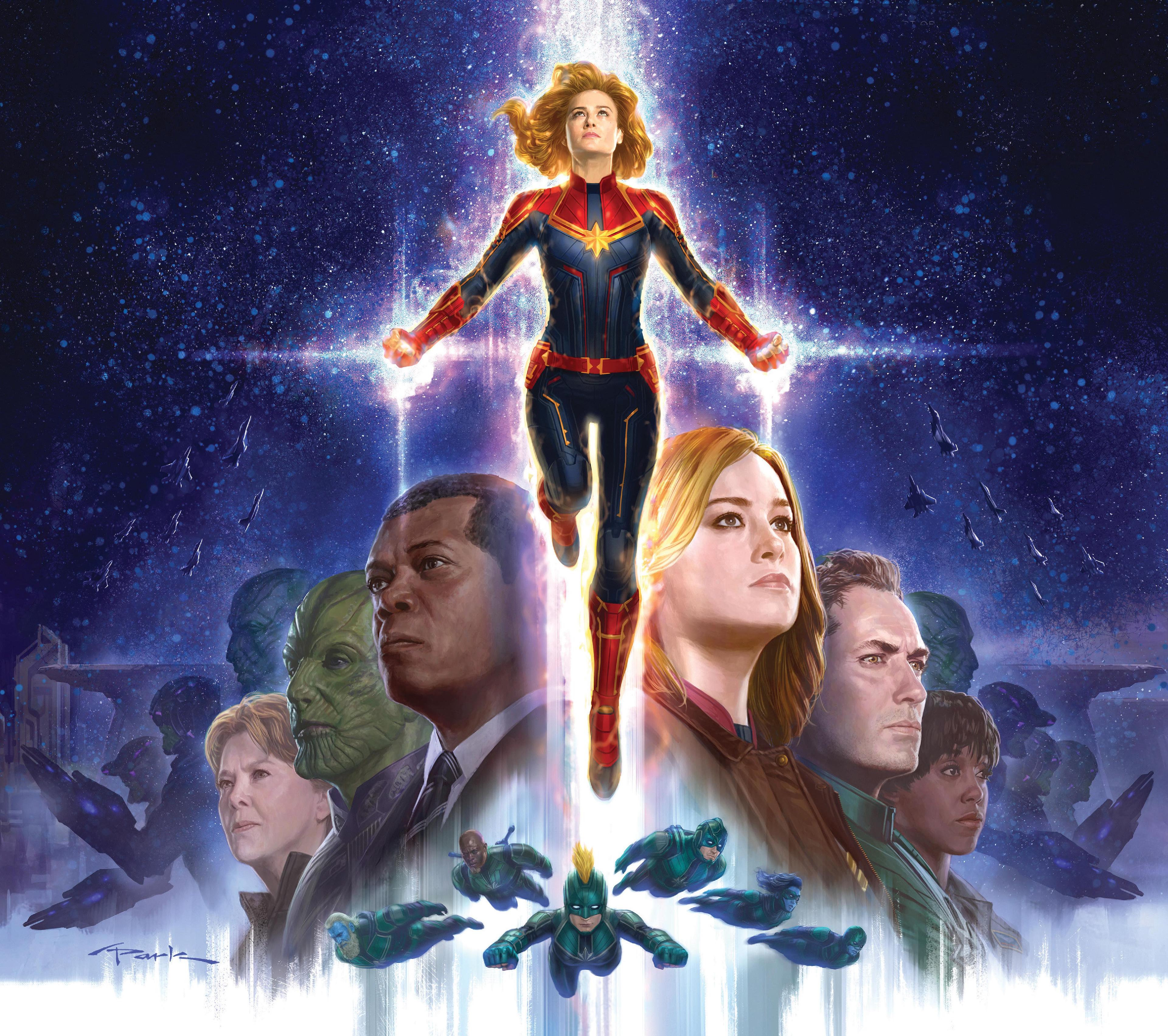 Captain Marvel 2019 4K Wallpaper, HD Movies 4K Wallpapers