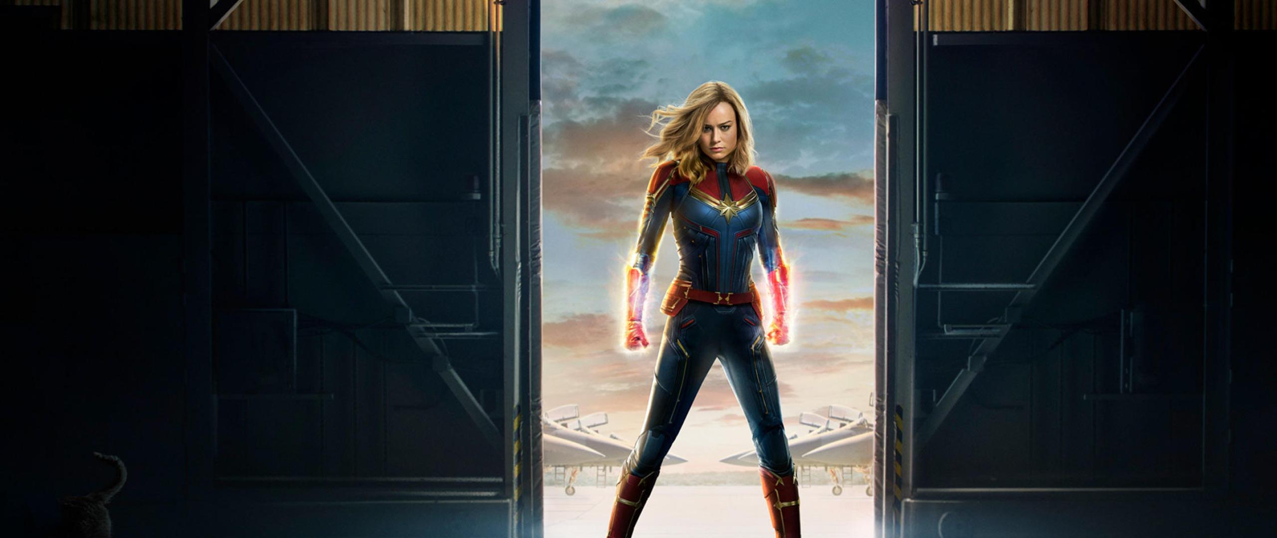 Captain Marvel 2019 Movie Official Poster Full Hd 2k