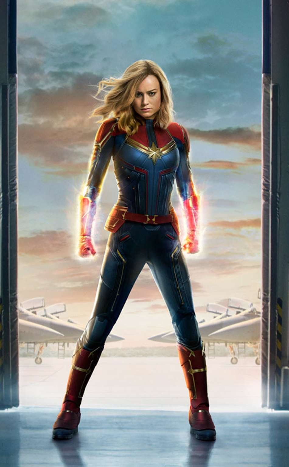 Captain Marvel 2019 Movie Official Poster, Full Hd 2K -8907