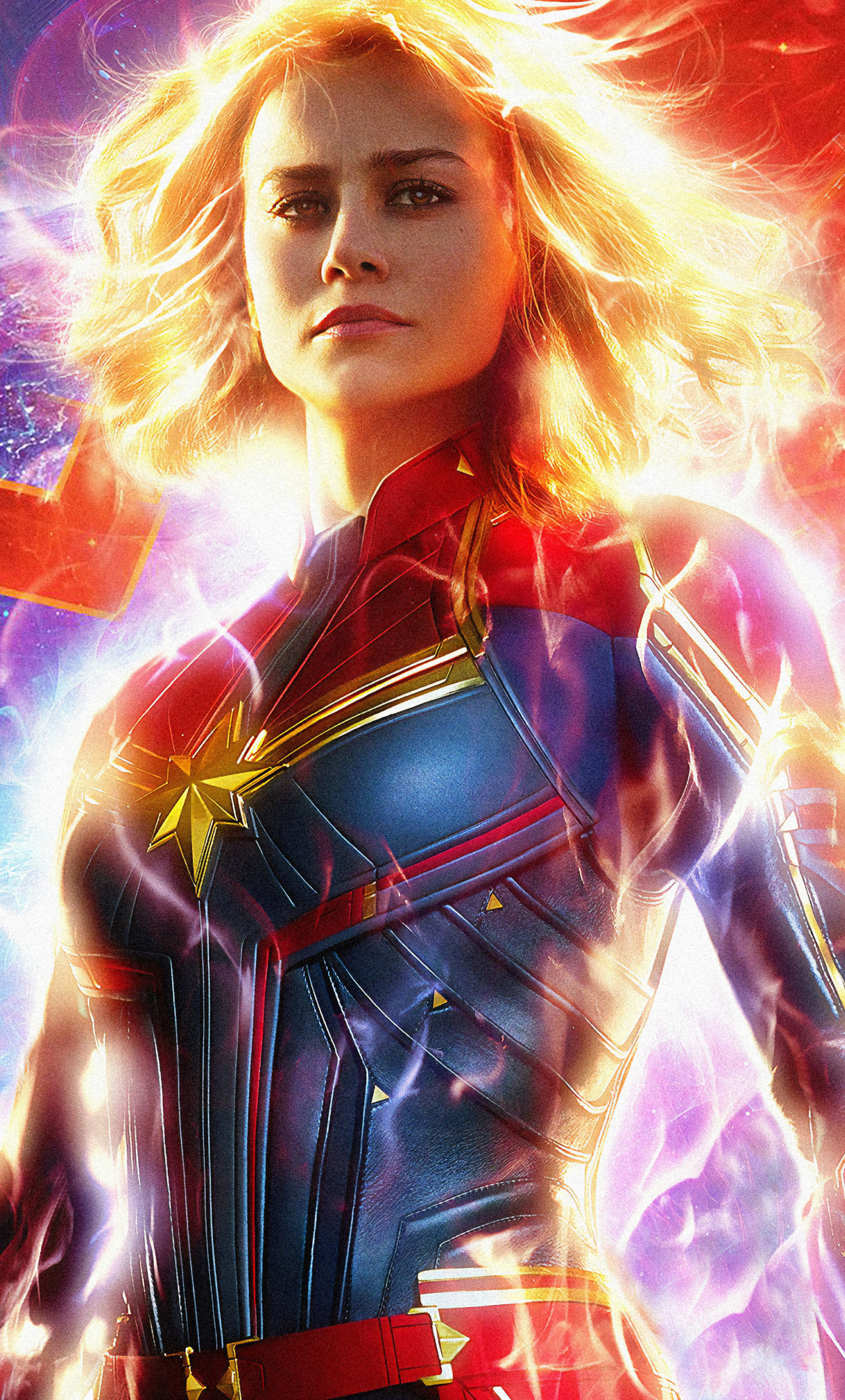 1280x2120 Captain Marvel 2019 Official Poster iPhone 6 ...