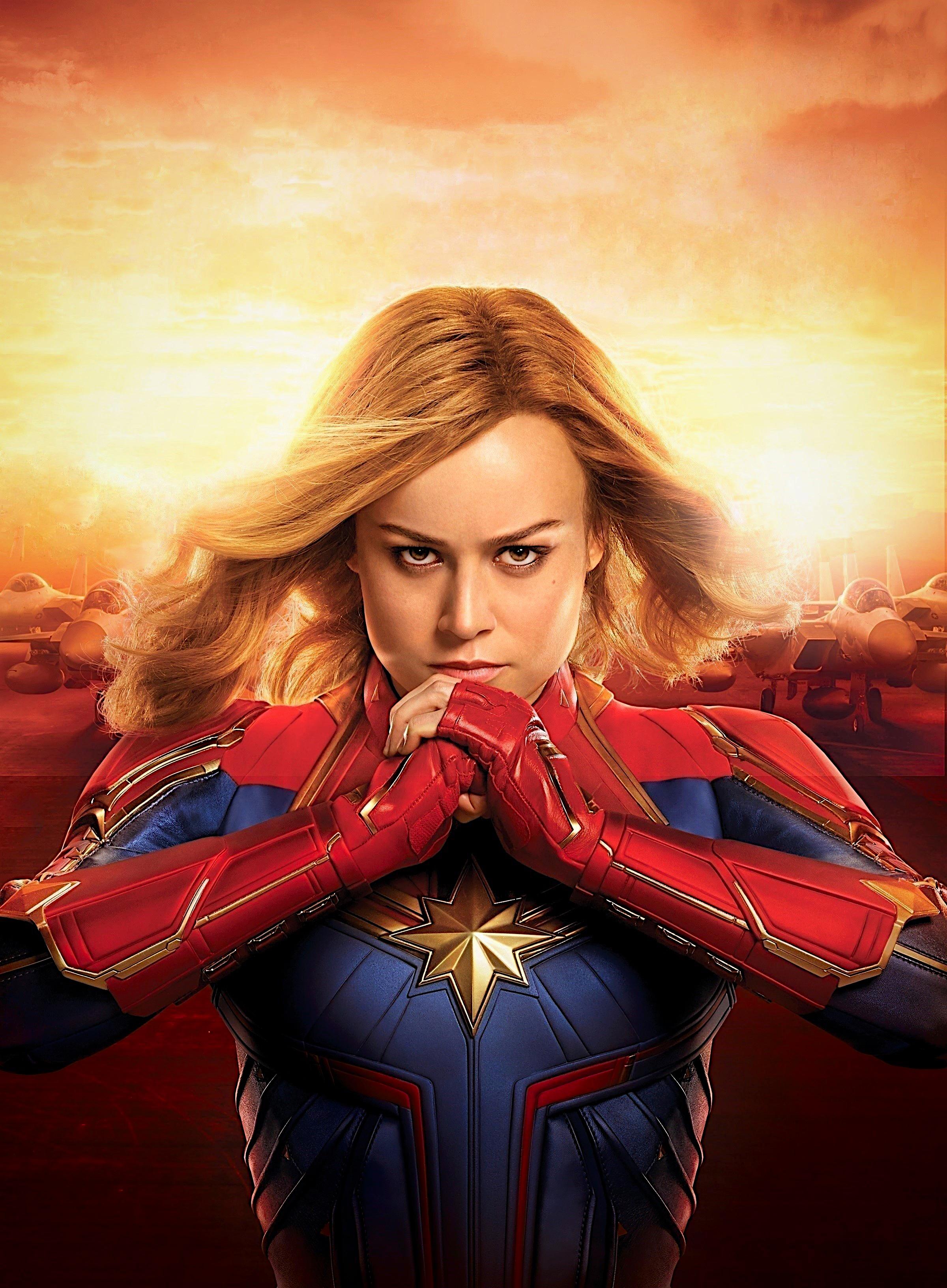 Captain Marvel 2019 Wallpaper, HD Movies 4K Wallpapers ...