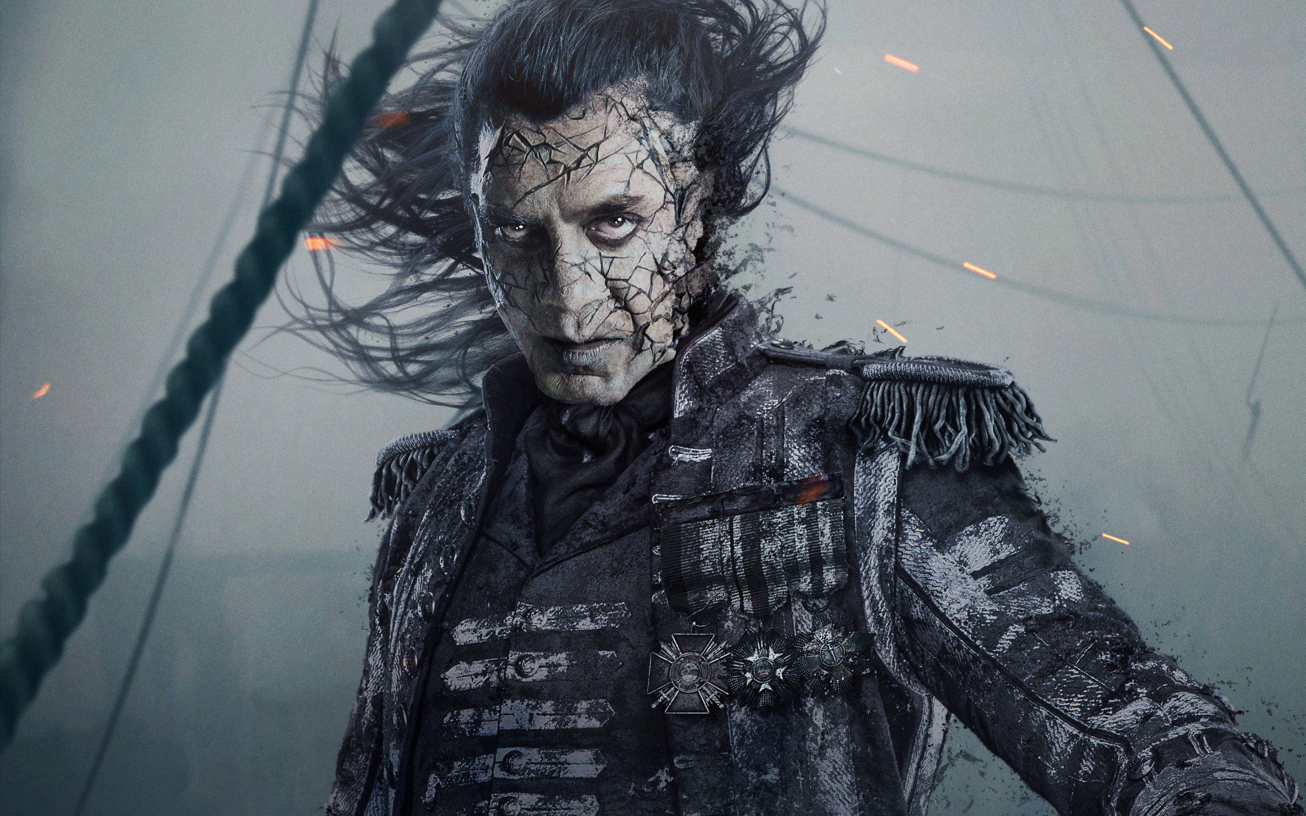 2560x1600 Captain Salaza In Pirates Of The Caribbean Dead Men Tell