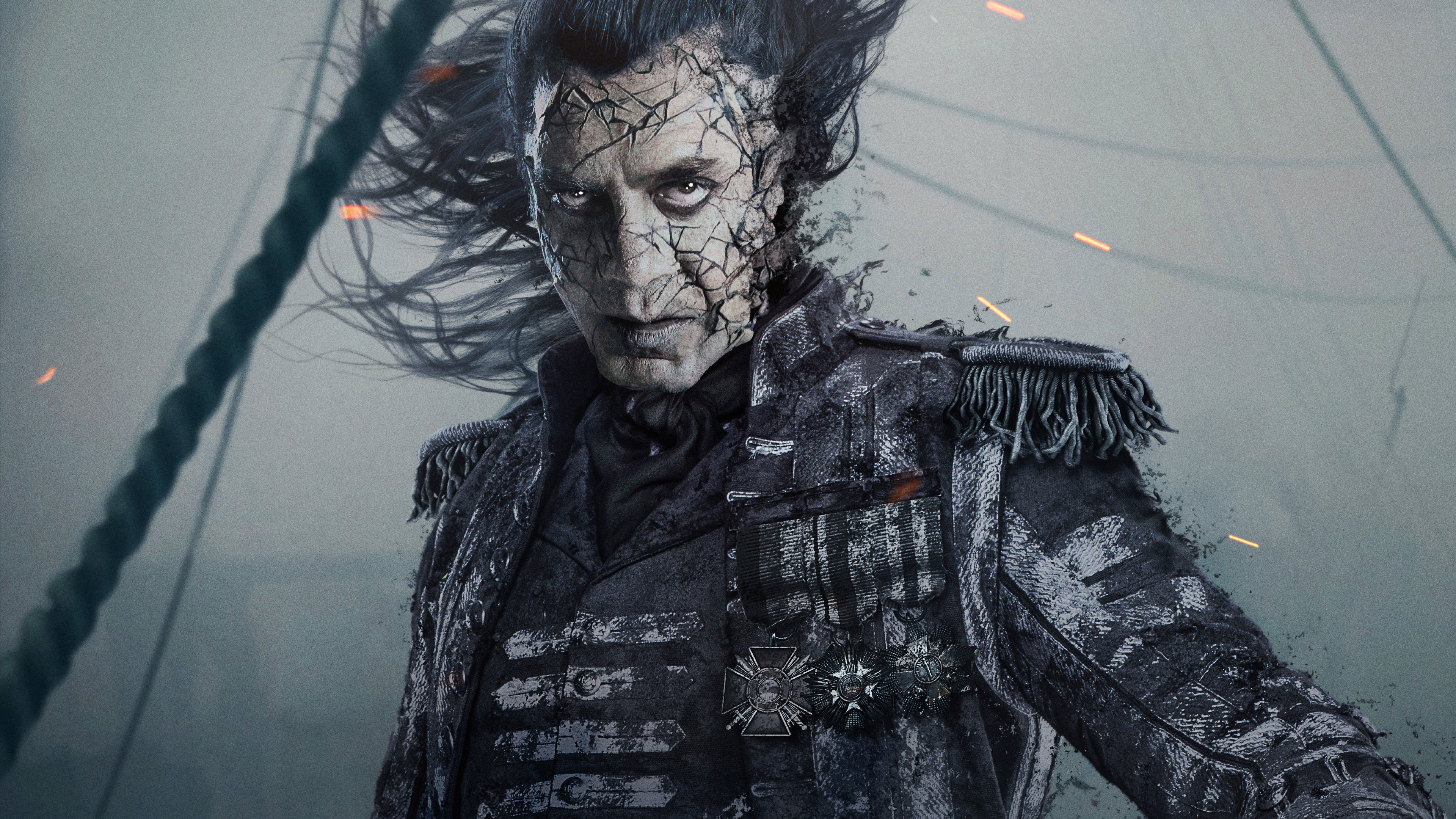 3840x2160 Captain Salaza In Pirates Of The Caribbean Dead Men Tell
