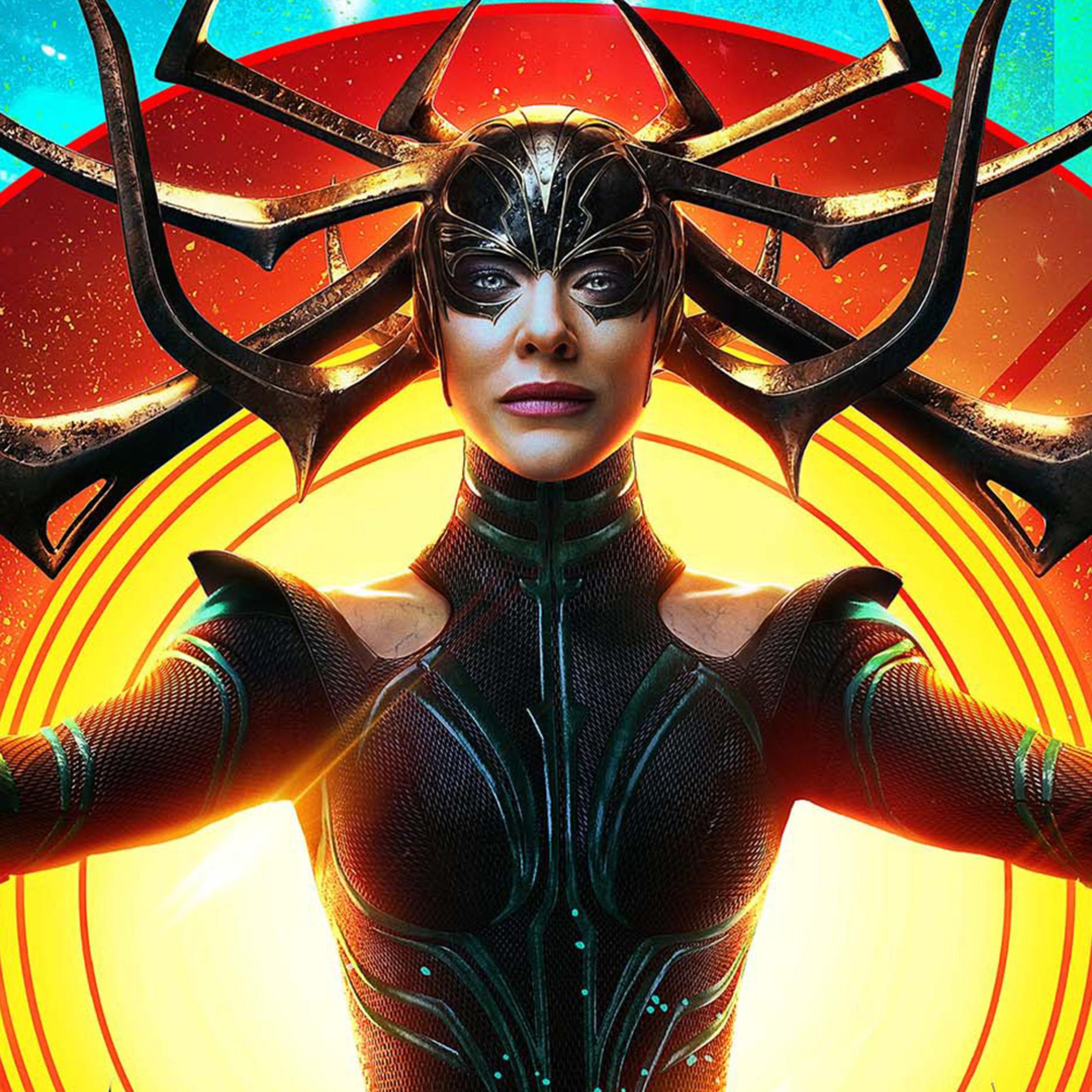 Cate Blanchett Hela In Thor Ragnarok (marvel Comics), Full ...