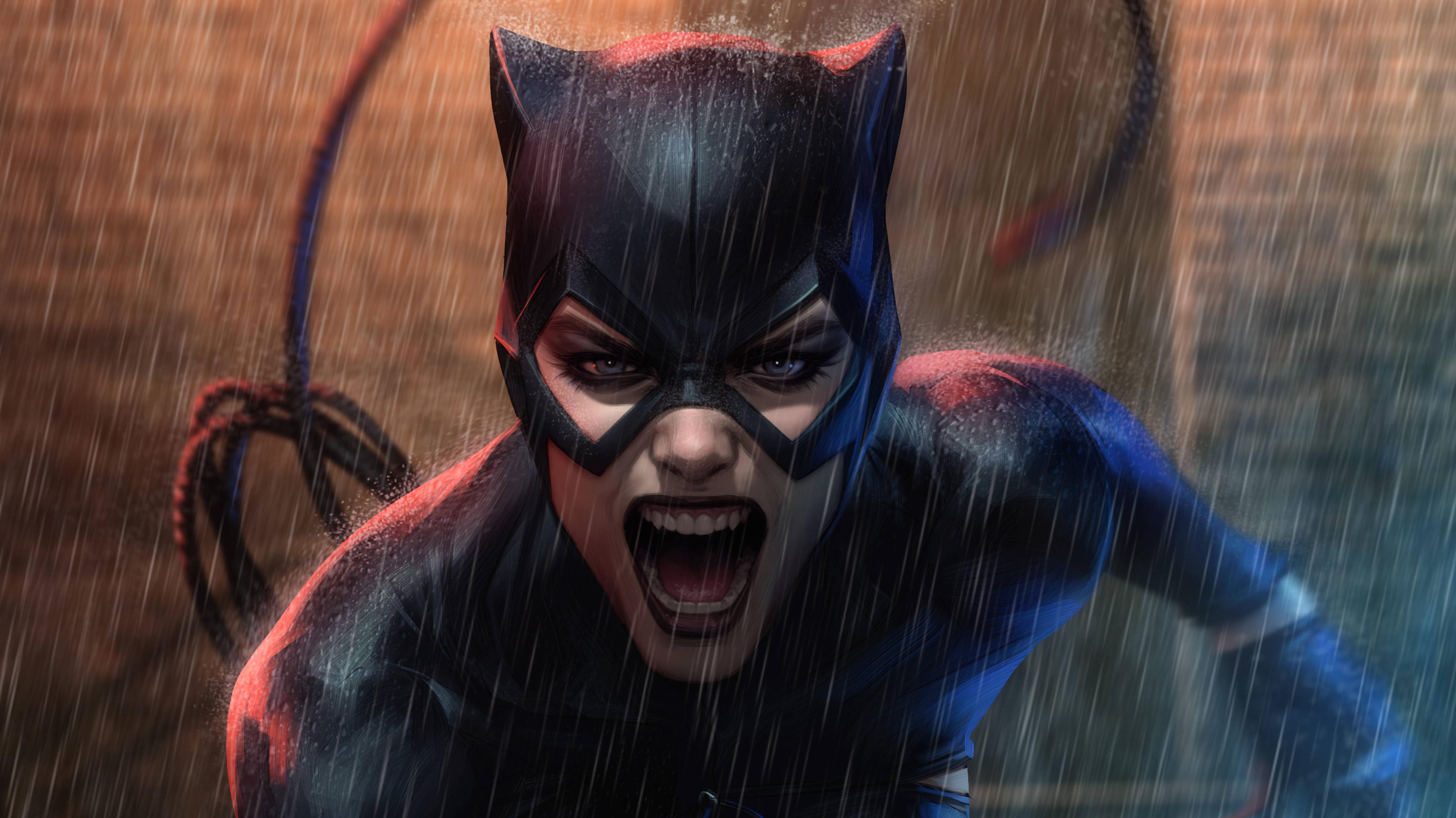 5120x2880 Catwoman Dc Comics 5k Wallpaper Hd Superheroes 4k