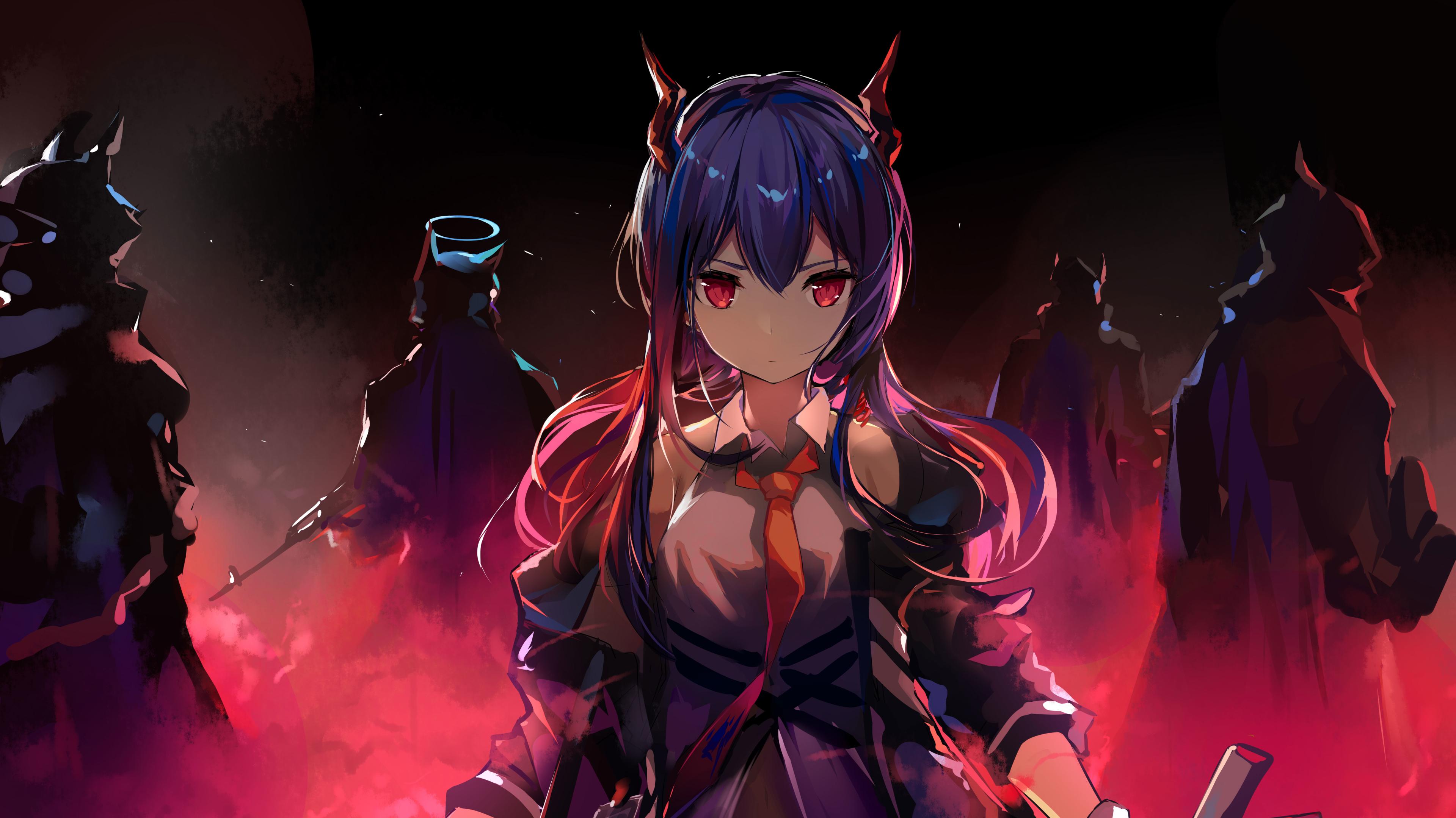 3840x2160 Ch'en Cool Arknights 8K 4K Wallpaper, HD Anime ...