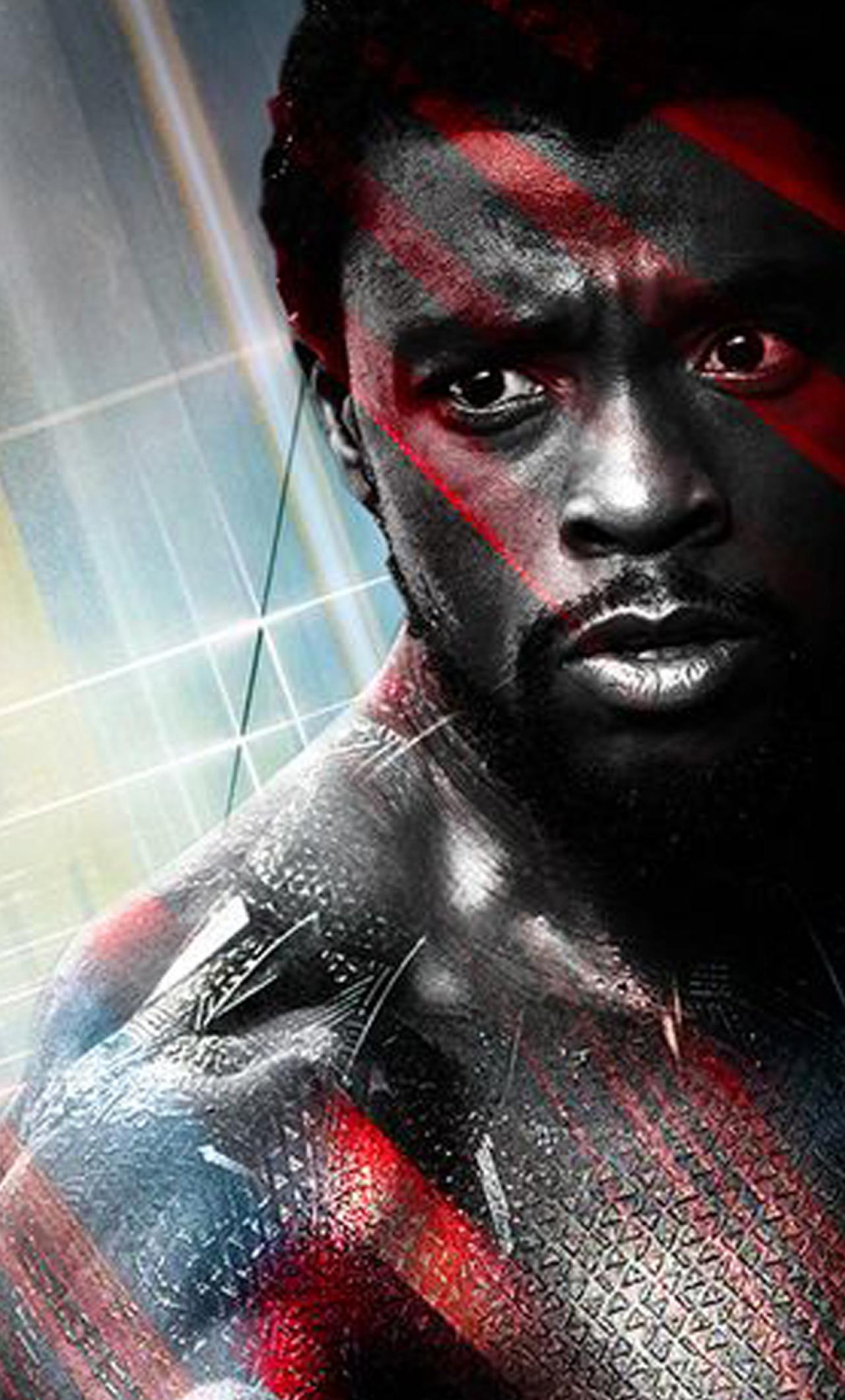 chadwick boseman as black panther 2018 movie full hd 2k