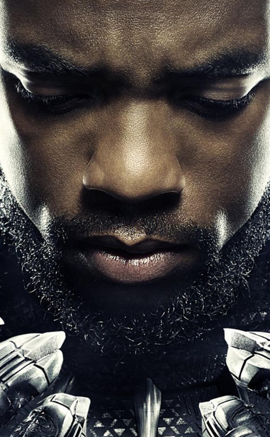 Chadwick Boseman In Bl...