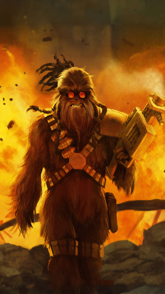 540x960 Chewbacca Cool Art 540x960 Resolution Wallpaper Hd Artist 4k Wallpapers Images Photos And Background