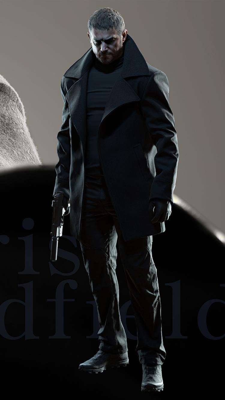 750x1334 Chris Redfield Resident Evil 8 Village iPhone 6 ...