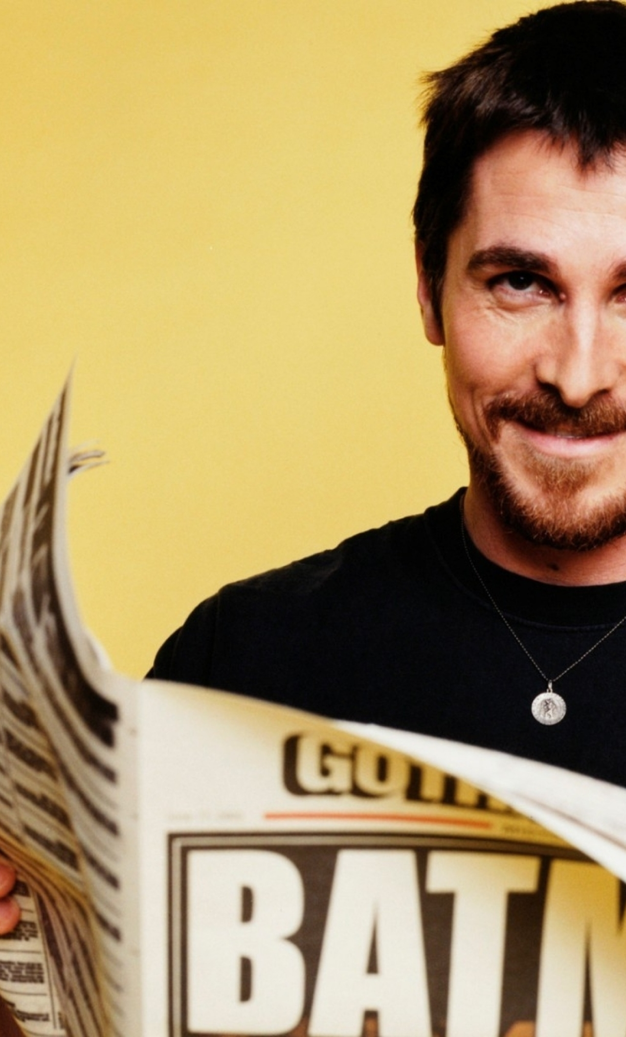 Download Christian Bale Cool Photoshoot 2160x3840 Rk 2 Rs