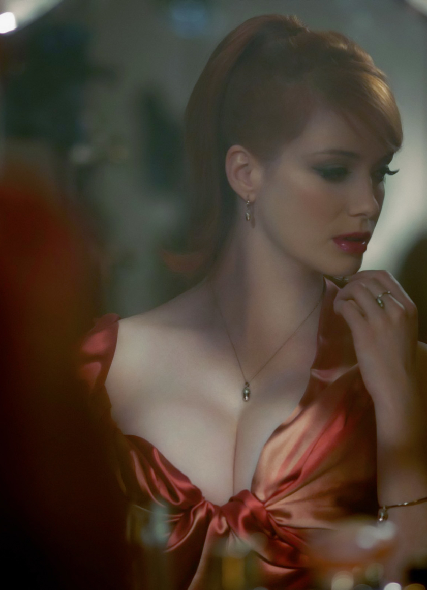 christina hendricks iphone 6 wallpaper