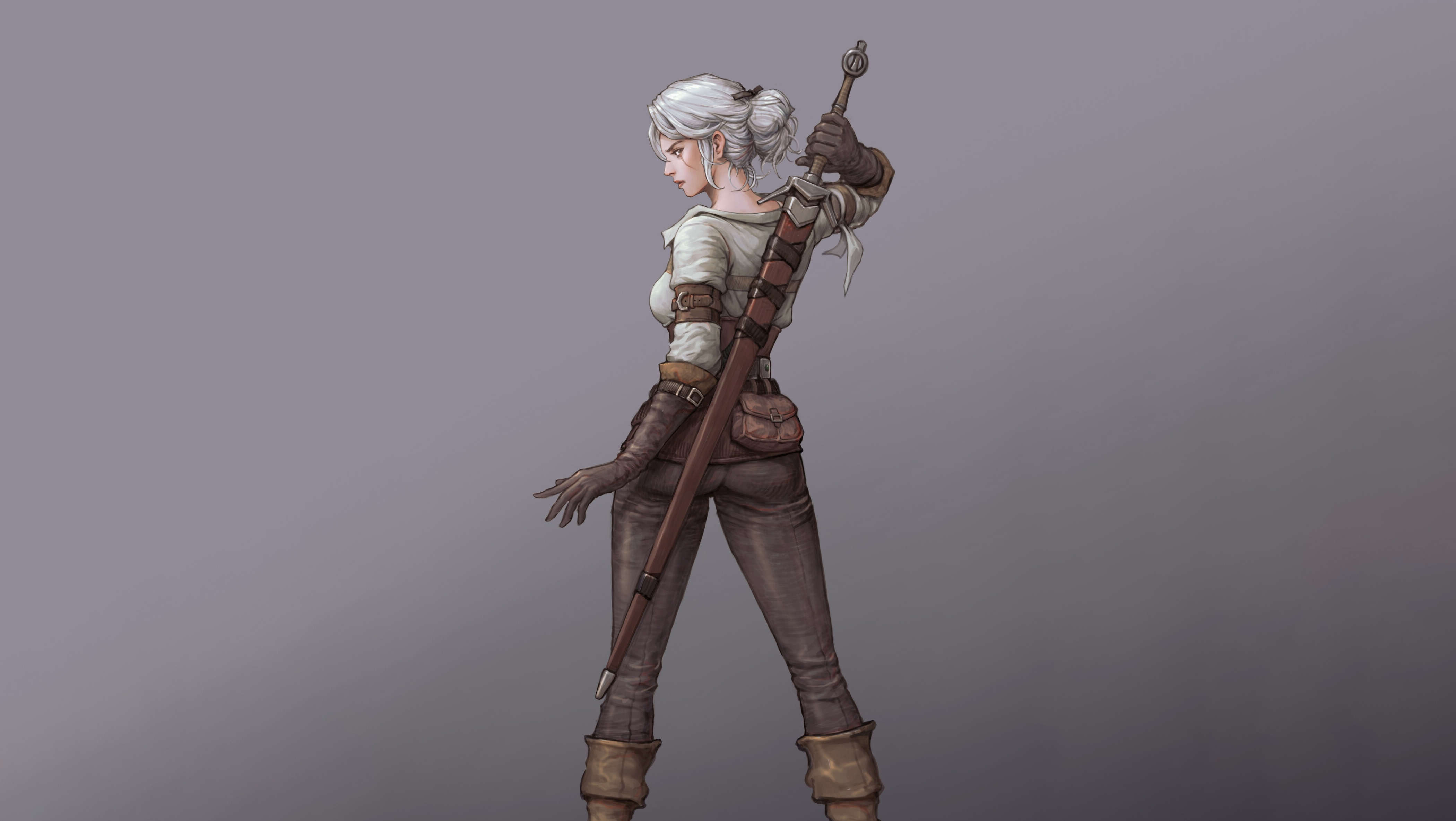 800x1280 Ciri In The Witcher Nexus 7 Samsung Galaxy Tab 10 Note