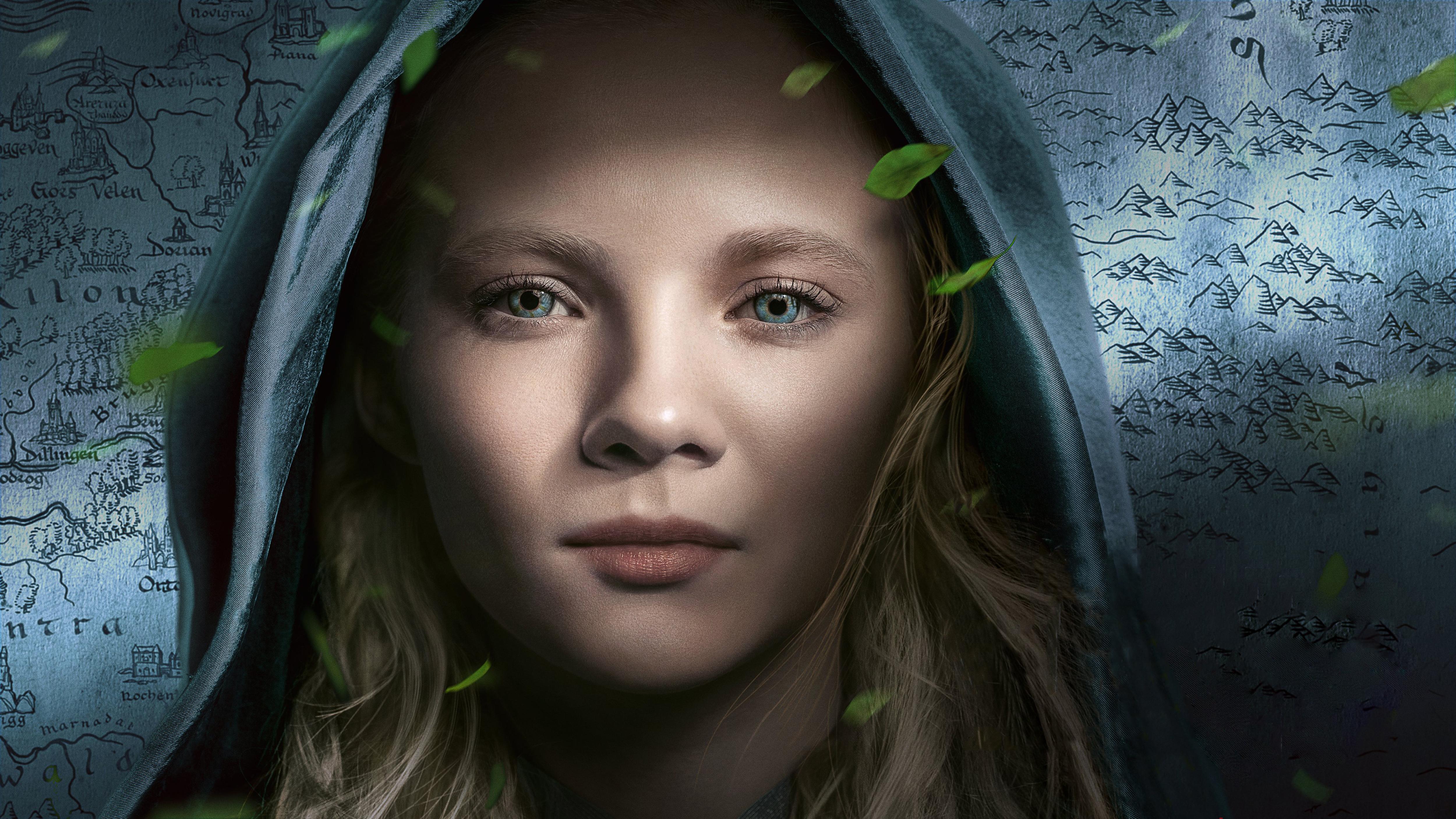 Ciri Netflix The Witcher Poster Wallpaper Hd Tv Series 4k