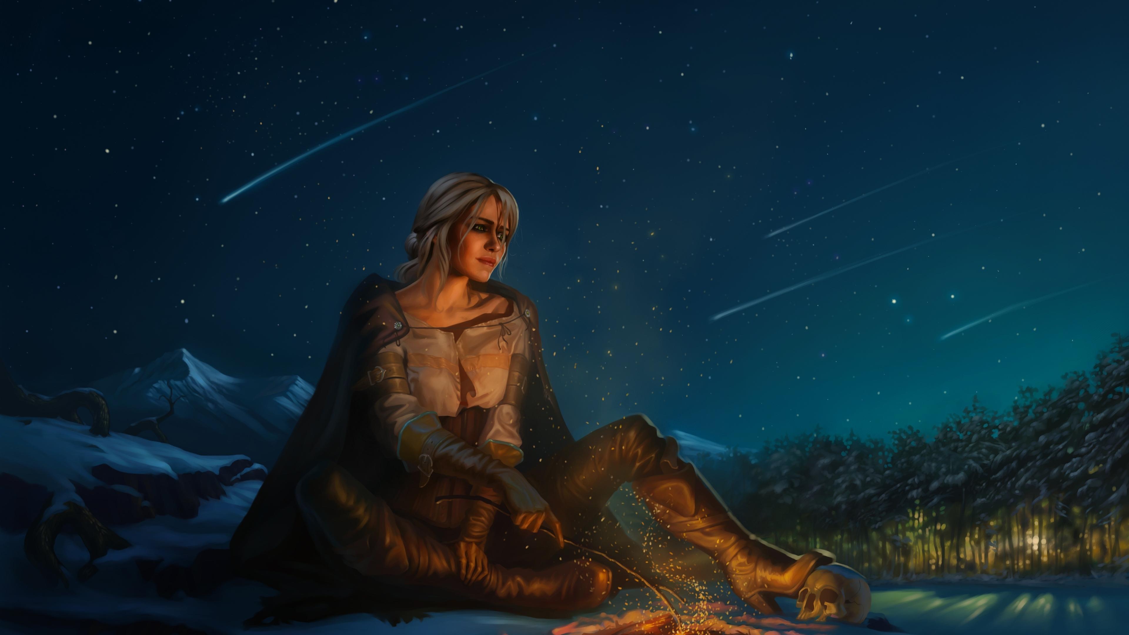 3840x2160 Ciri The Witcher 3 Wild Hunt 4k Wallpaper Hd Games 4k