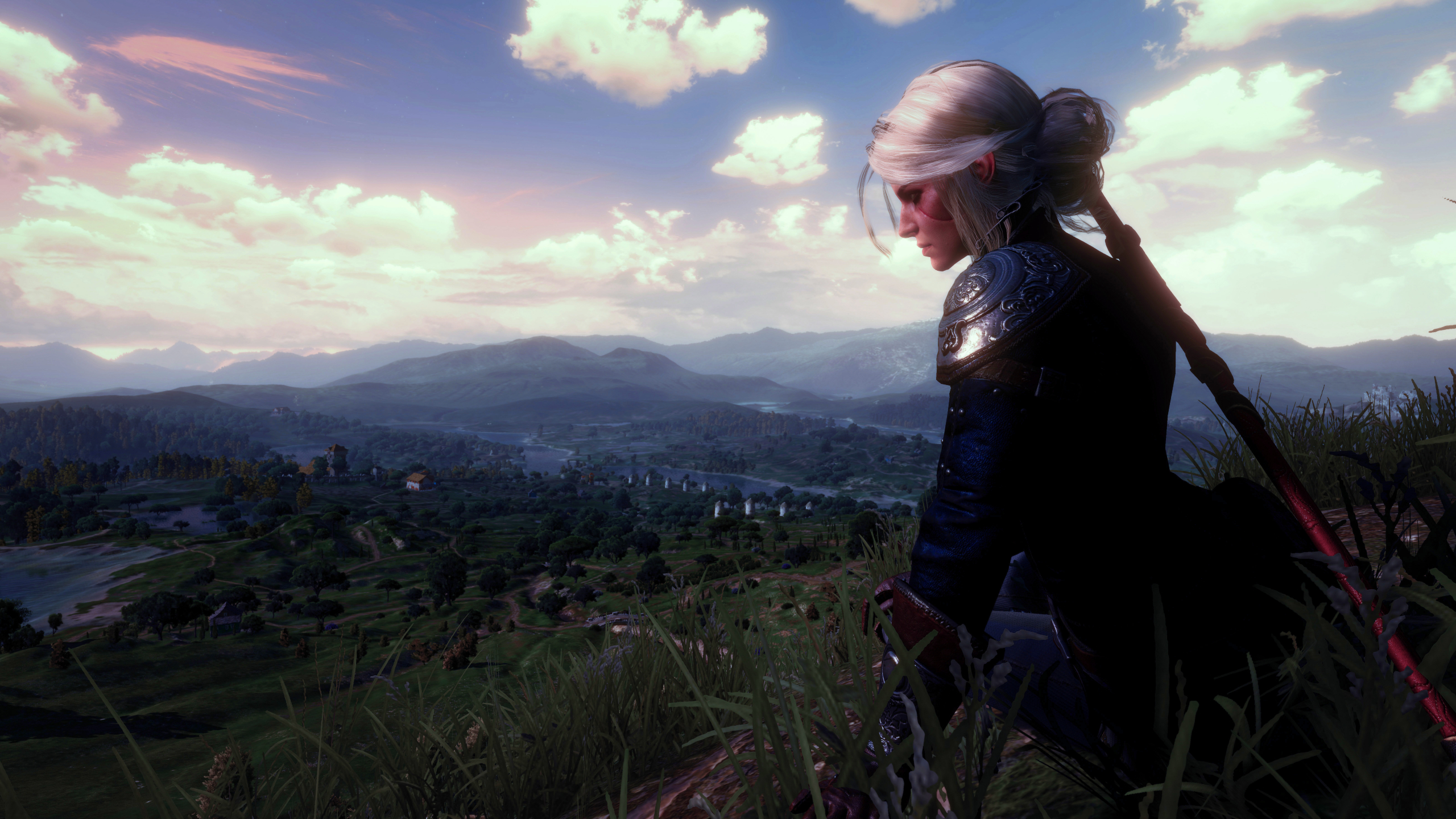 2560x1440 Ciri Witcher 3 Wild Hunt 1440p Resolution Wallpaper Hd