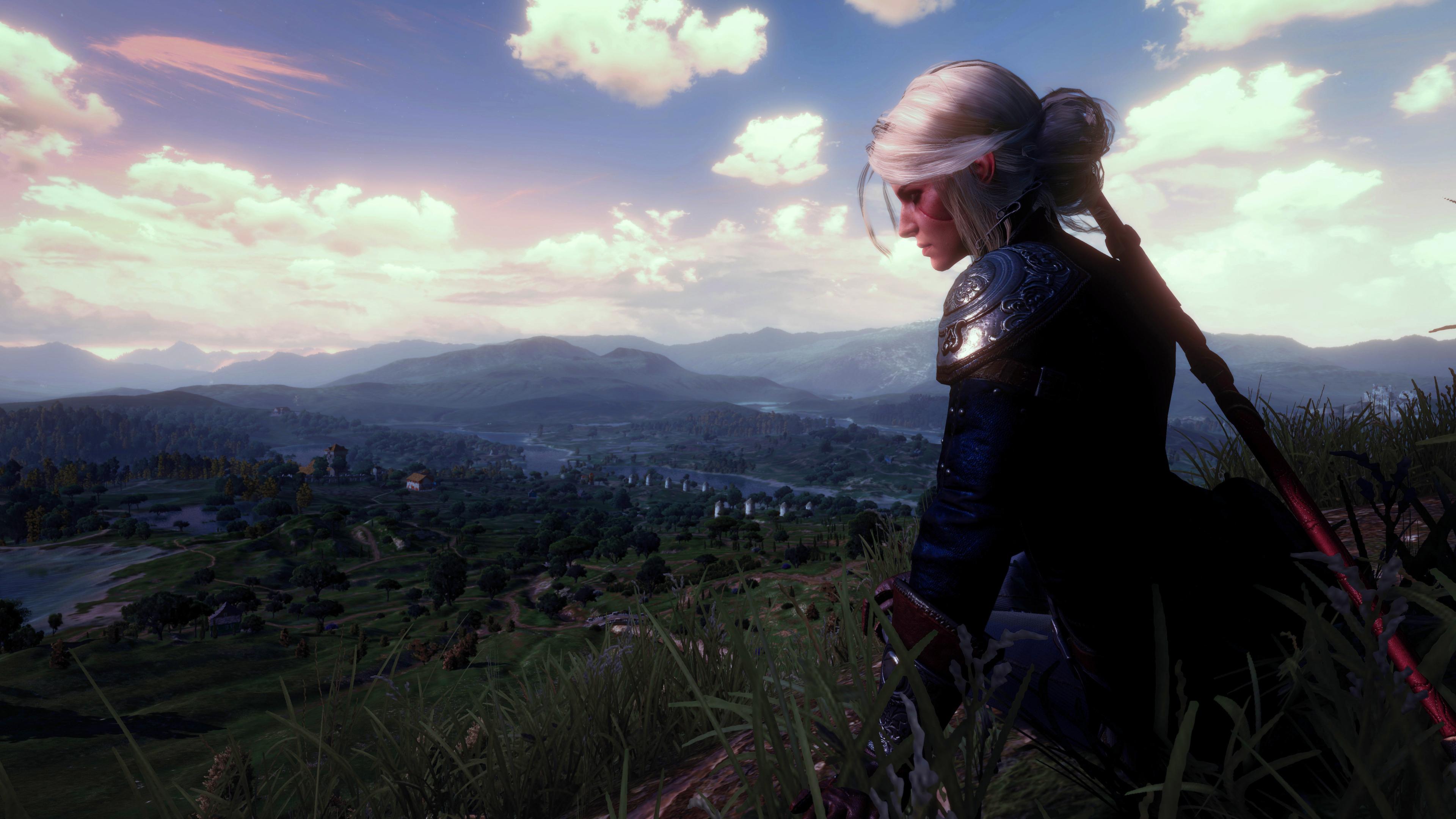 Ciri Witcher 3 Wild Hunt, HD 8K Wallpaper