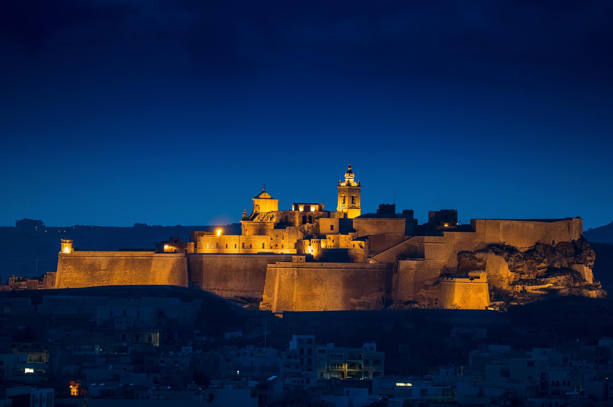 Citadel of Victoria the Island of Gozo 4K Wallpaper in 2560x1700 Resolution