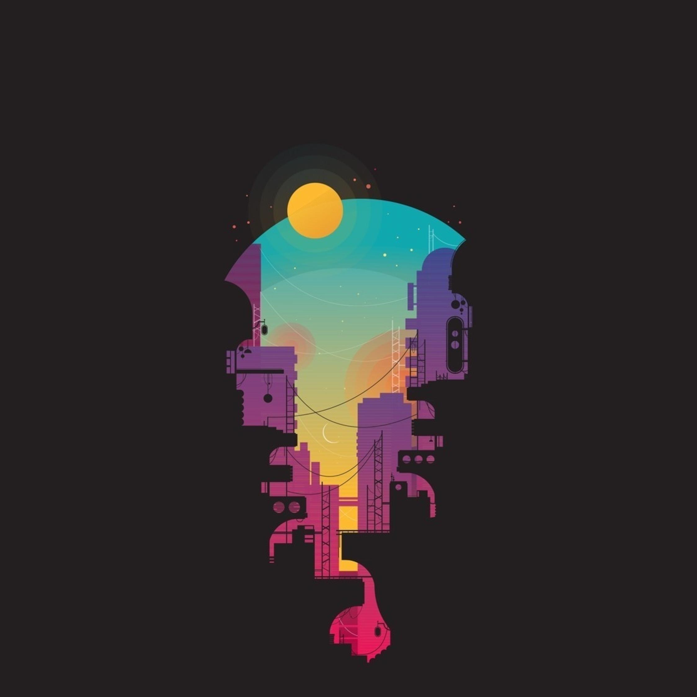 City Minimalism, Full HD Wallpaper