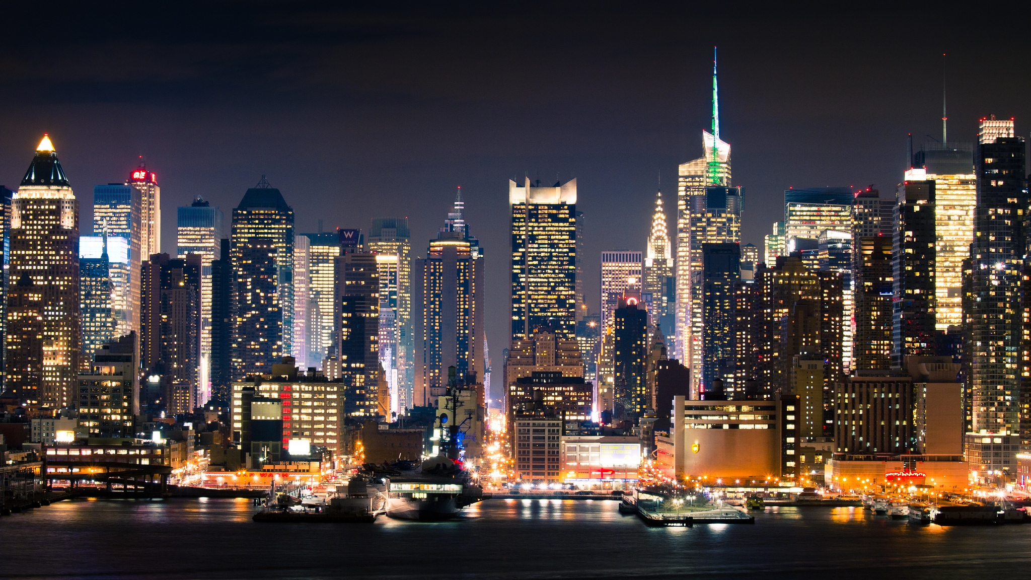City new york manhattan full hd 2k wallpaper for Sfondi desktop new york
