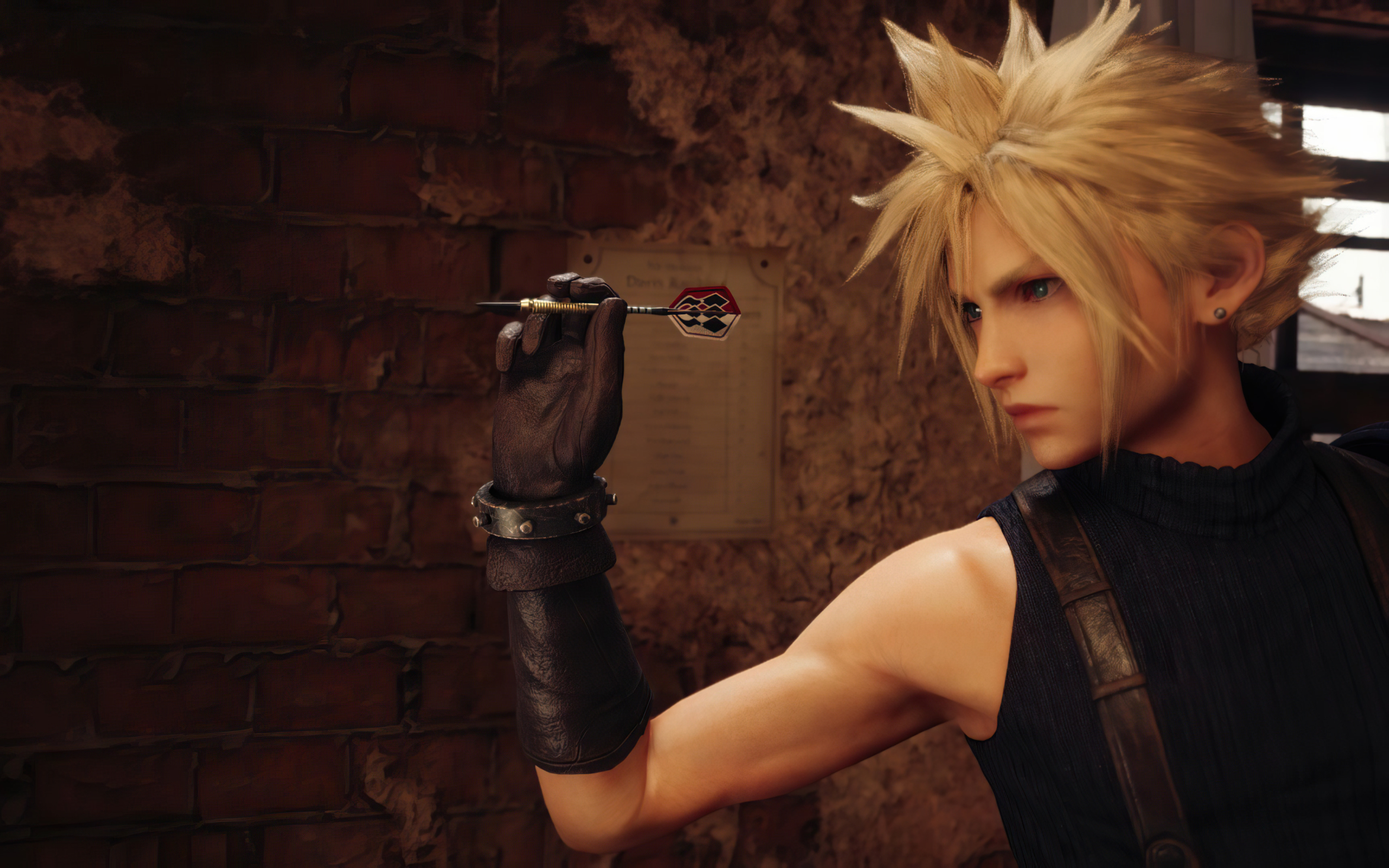 2560x1600 Cloud Strife Final Fantasy 7 Remake 2560x1600 Resolution