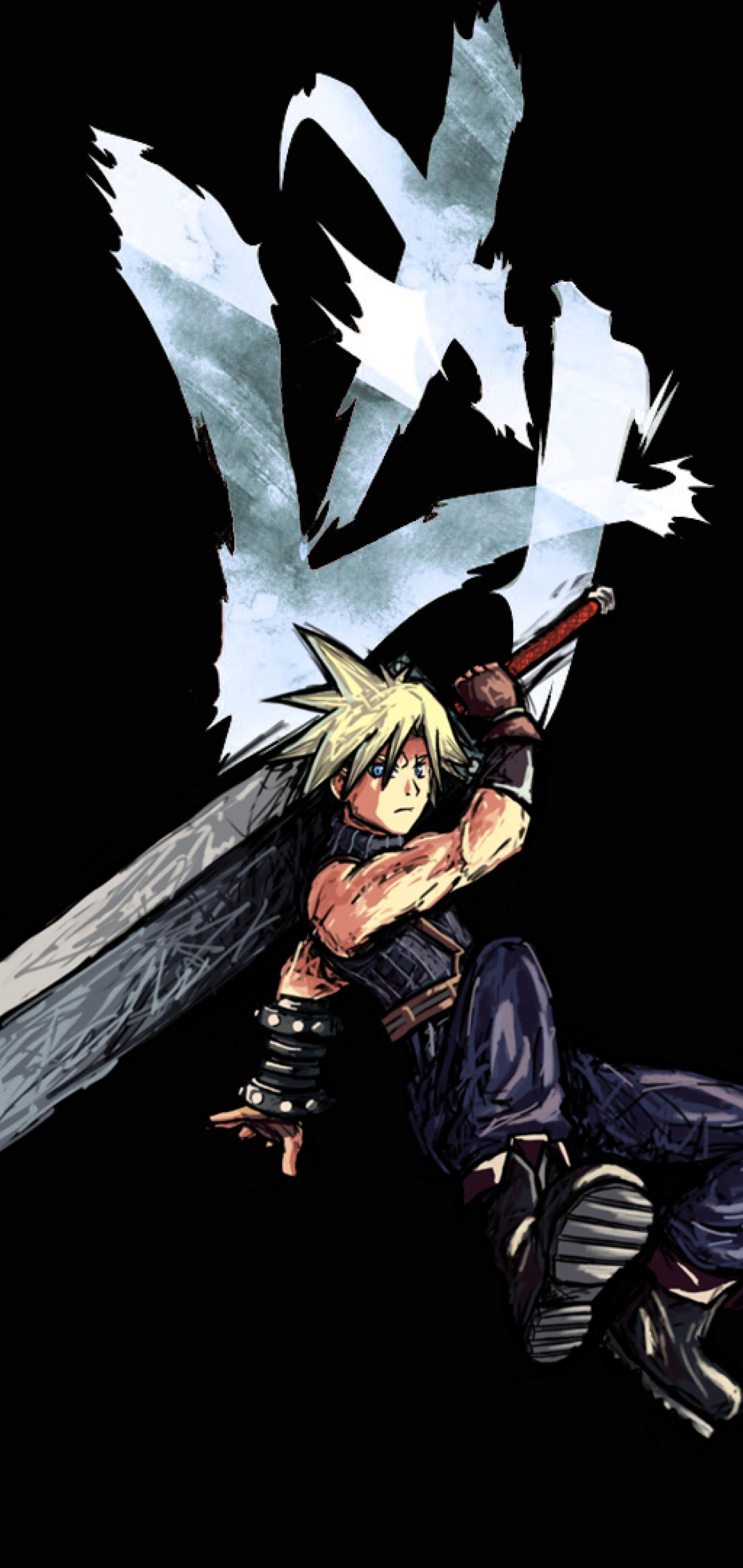 1440x3040 Cloud Strife Final Fantasy 1440x3040 Resolution