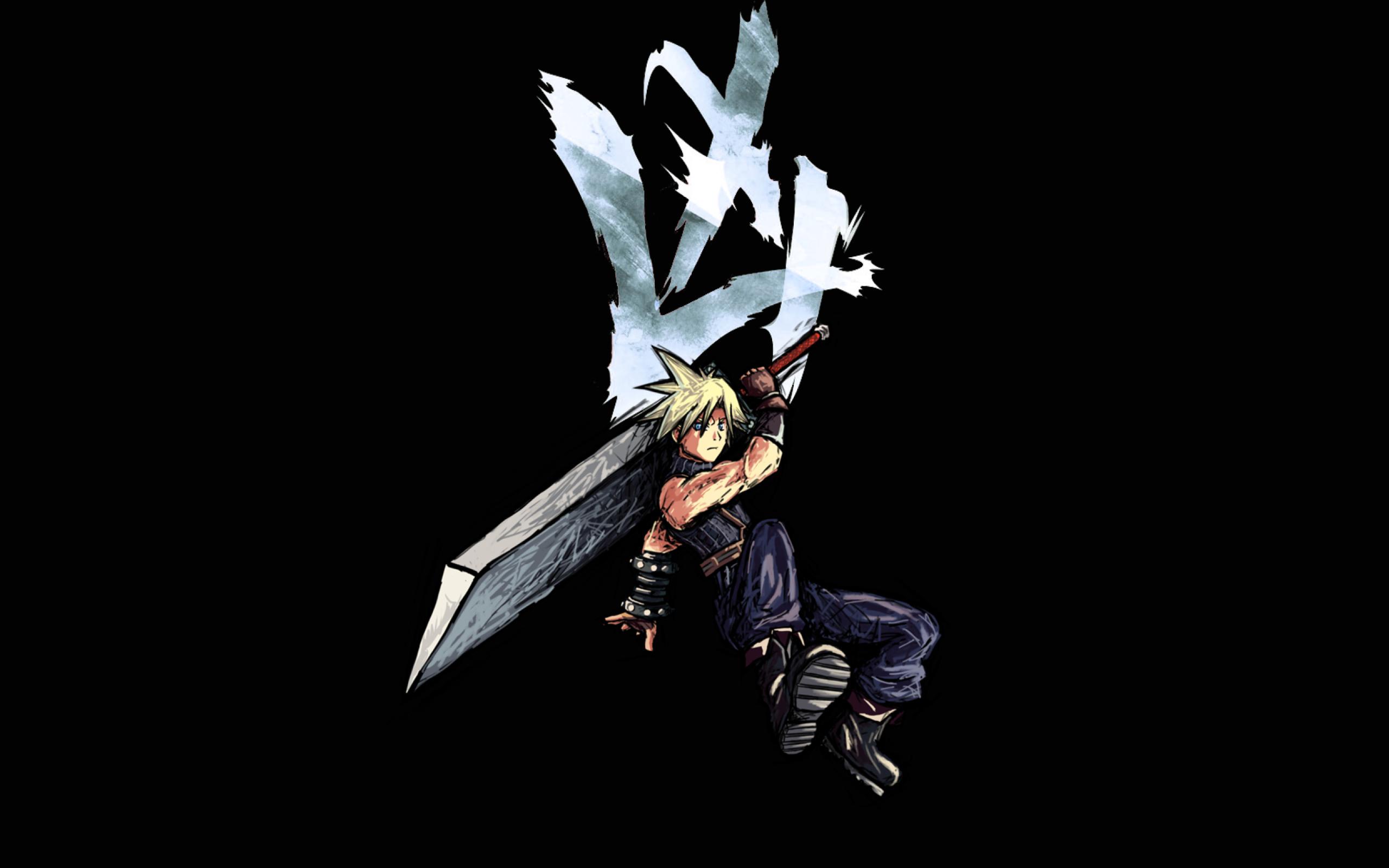 2560x1600 Cloud Strife Final Fantasy 2560x1600 Resolution