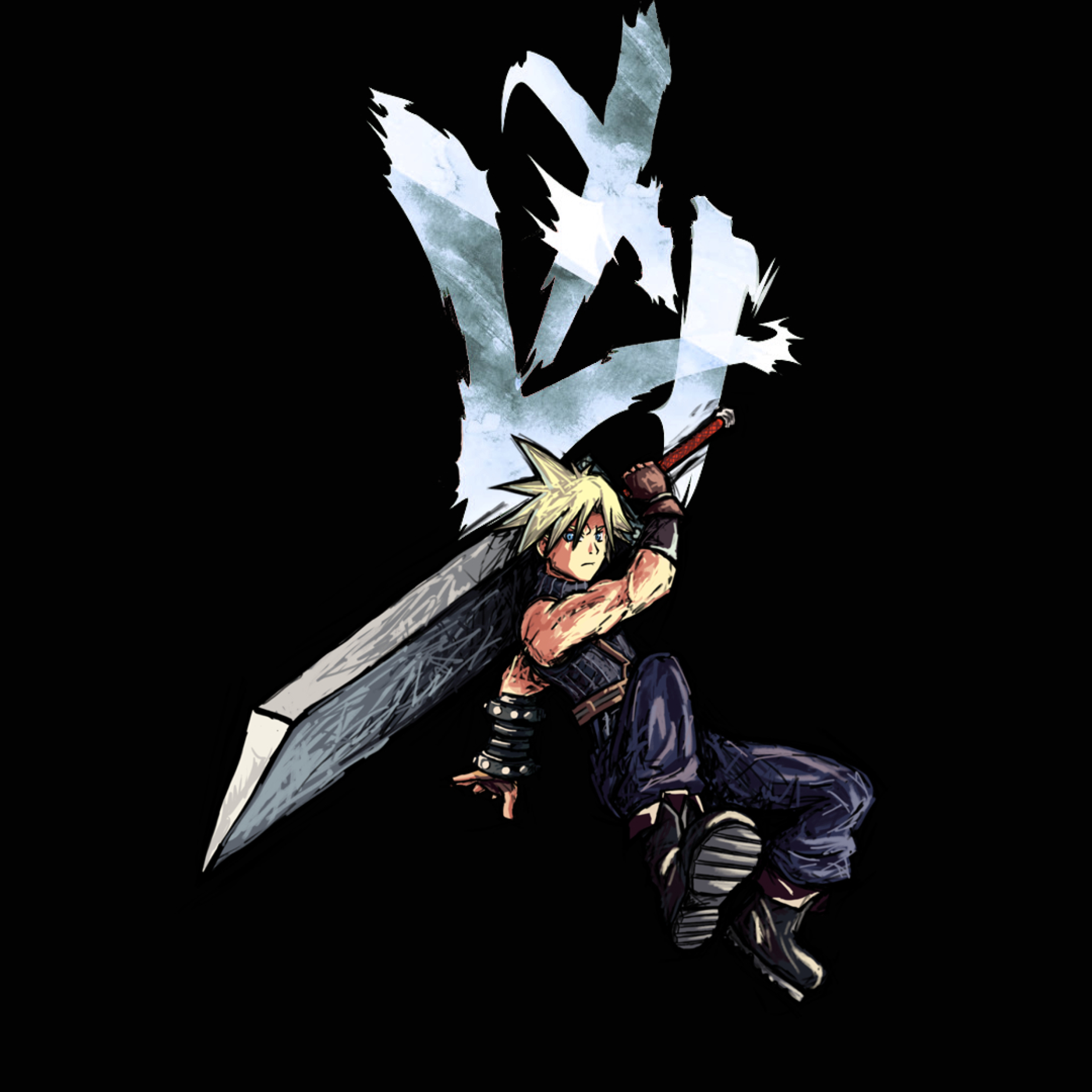 2932x2932 Cloud Strife Final Fantasy Ipad Pro Retina Display