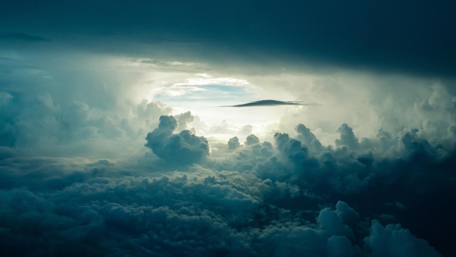 Clouds 4K 1600x900 Resolution Wallpaper