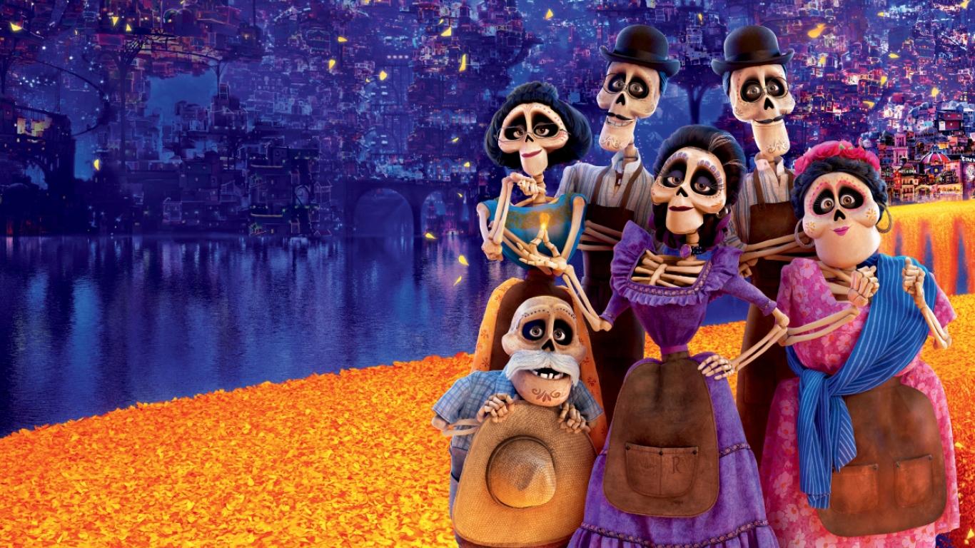 Coco 2017 Movie, HD 8K Wallpaper