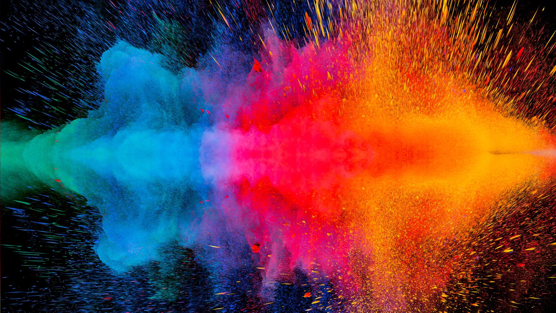 1920x1080 Colorful Dispersion 4K 1080P Laptop Full HD ...
