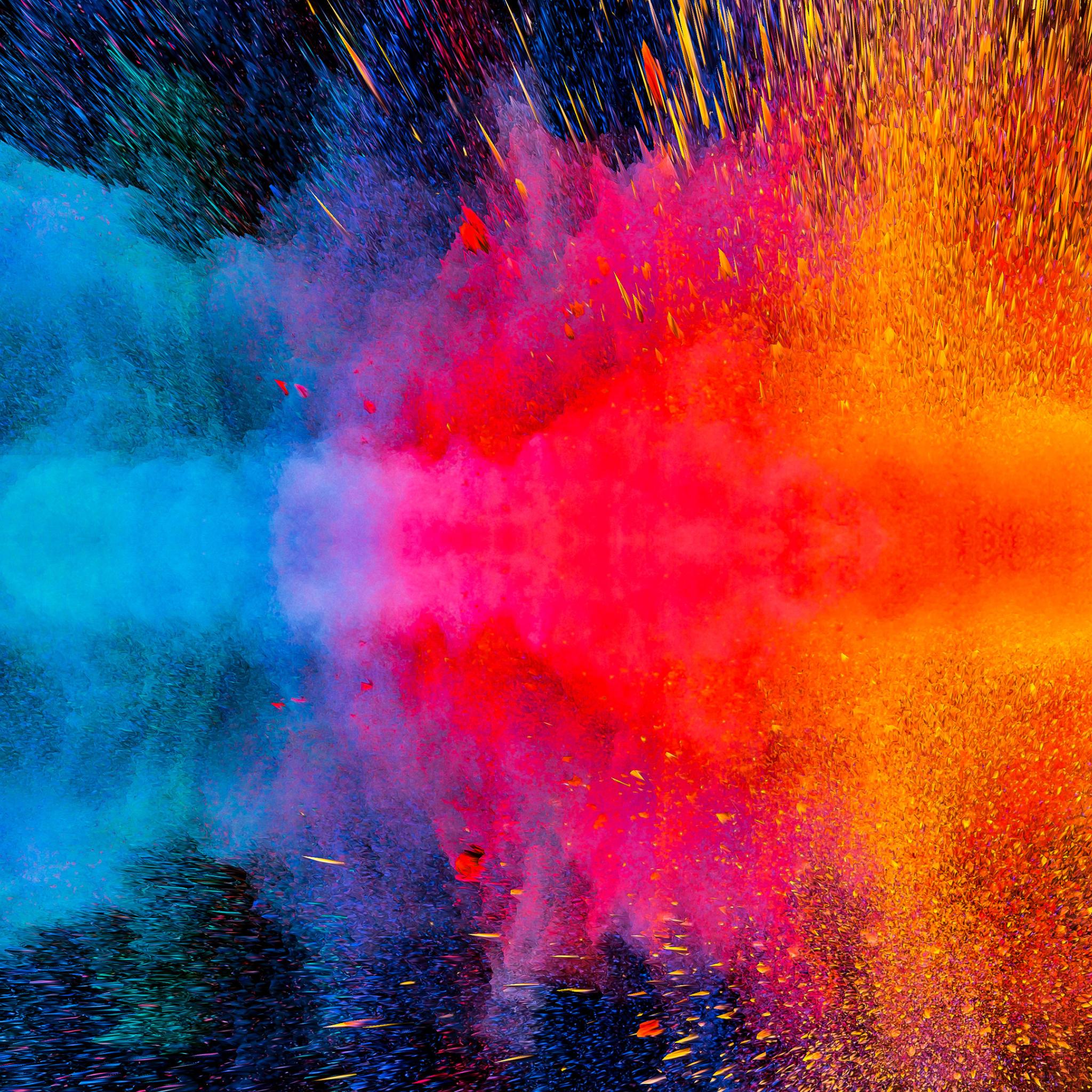 2048x2048 Colorful Dispersion 4K Ipad Air Wallpaper, HD