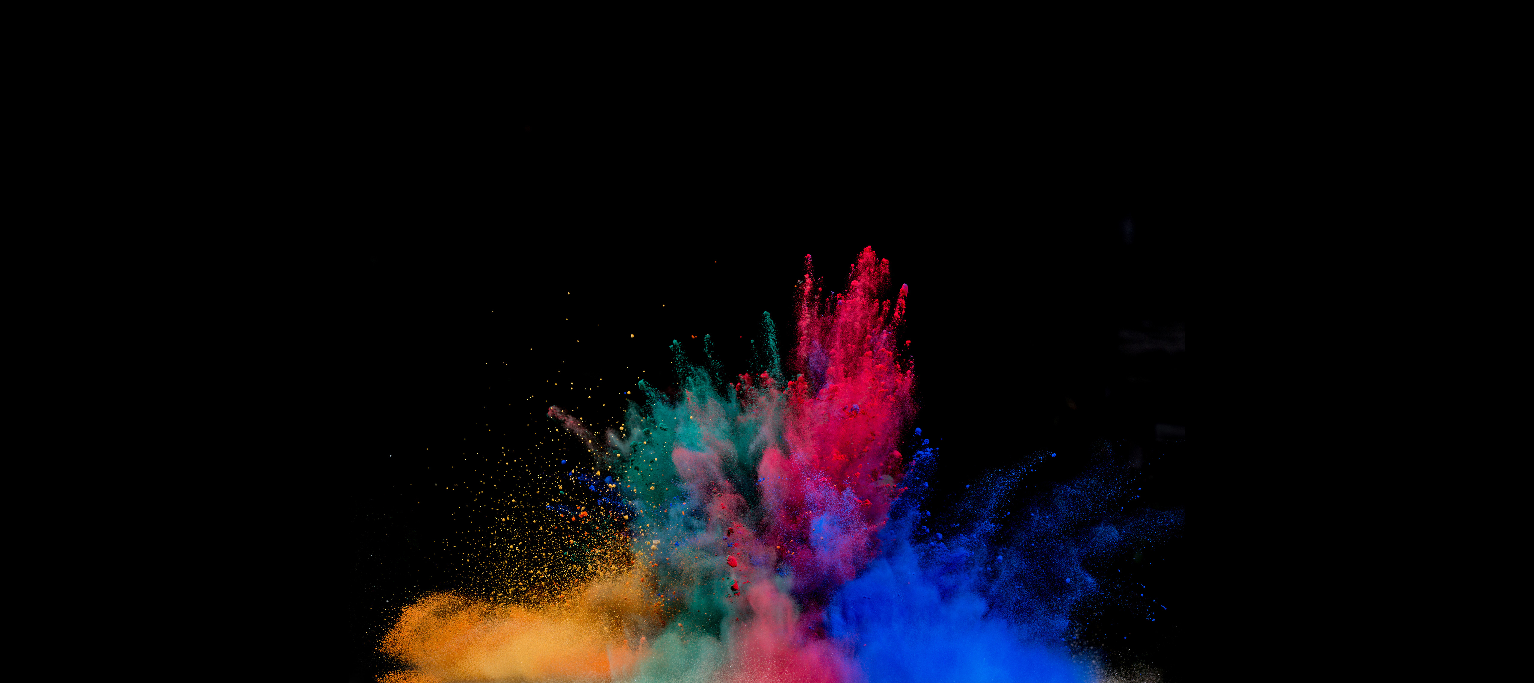 2560x1440 Colorful Powder Explosion 1440p Resolution Wallpaper Hd Artist 4k Wallpapers Images Photos And Background