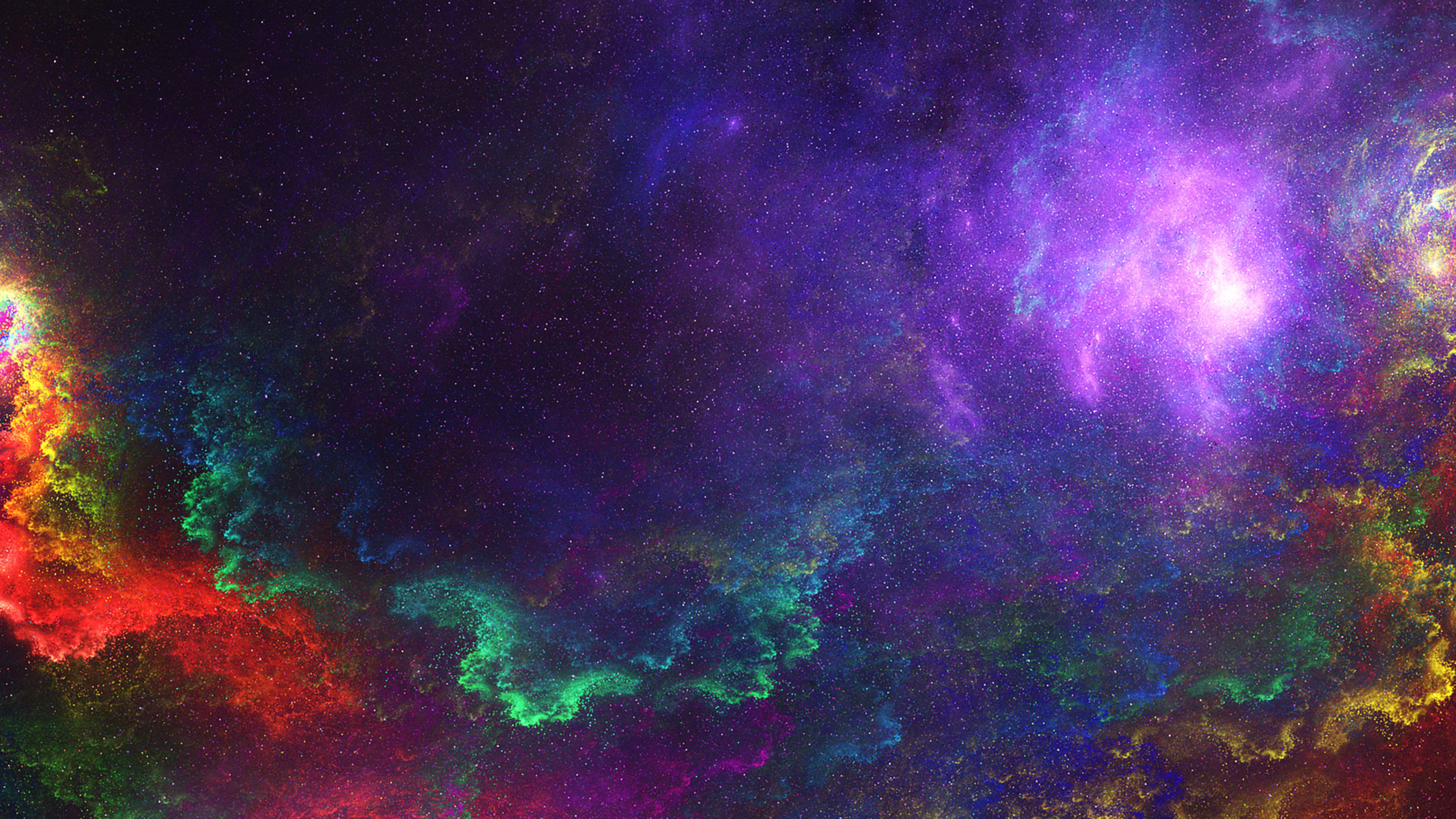 Top 25 Samsung Galaxy S4 Screen Saver Wallpapers: Colorful Space, Full HD Wallpaper
