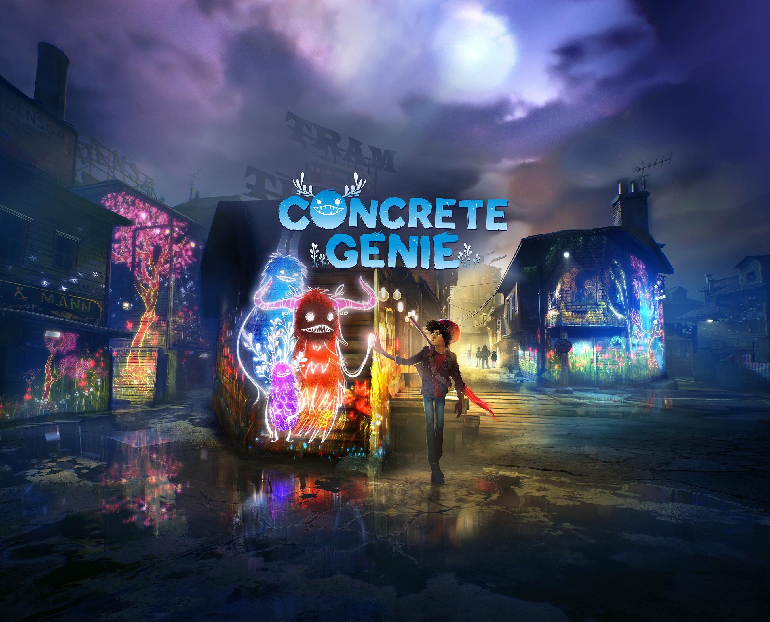 Concrete Genie Wallpaper, HD Games 4K Wallpapers, Images