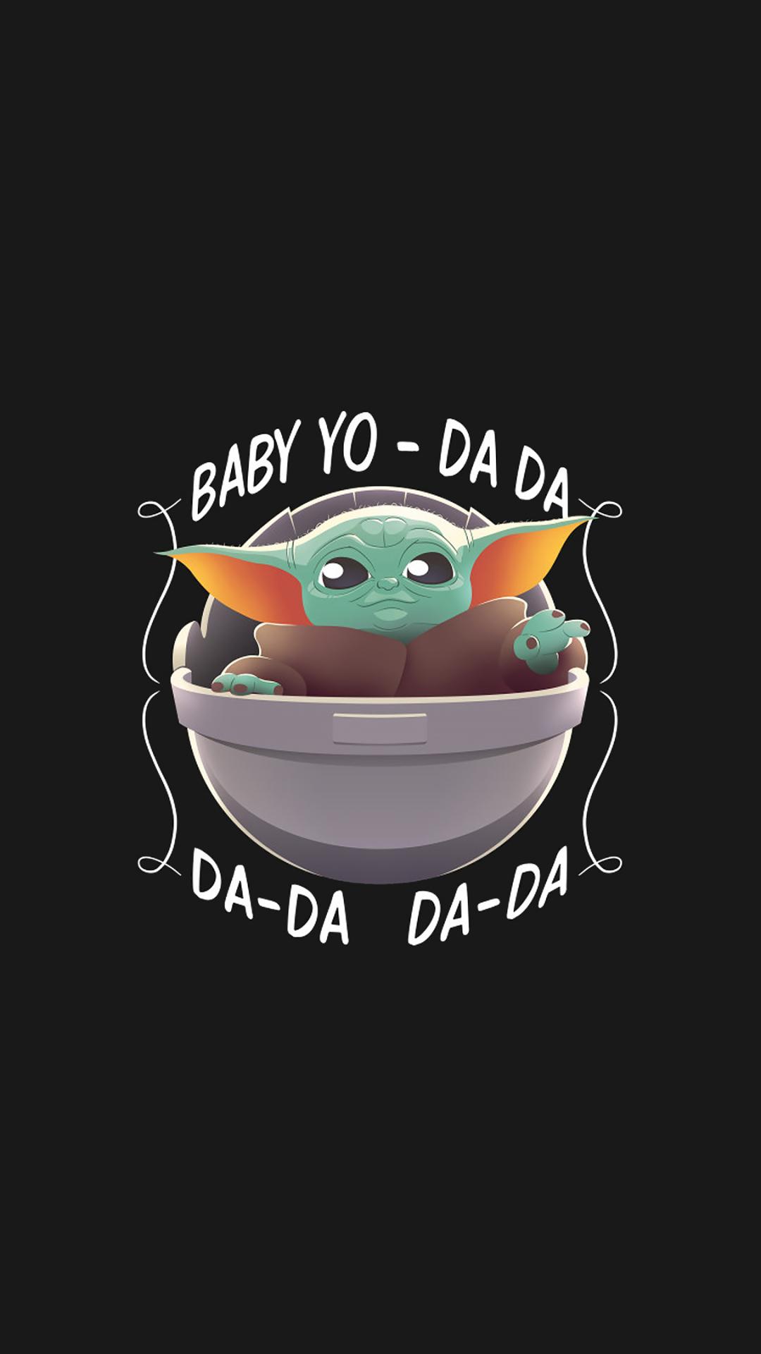 1080x1920 Cool Baby Yoda Minimalist Iphone 7, 6s, 6 Plus ...