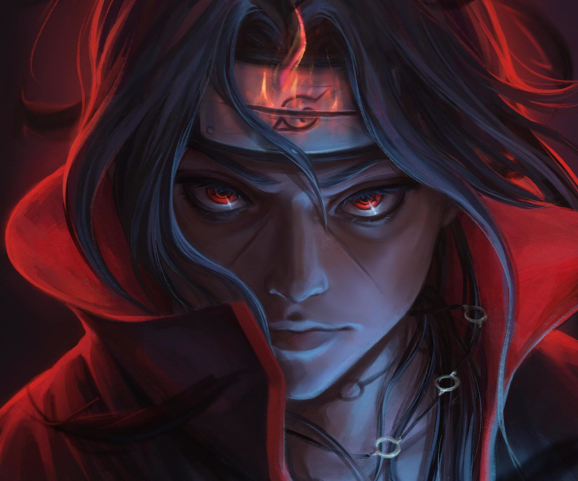 Cool Itachi Uchiha Naruto Art Wallpaper Hd Anime 4k Wallpapers Images Photos And Background