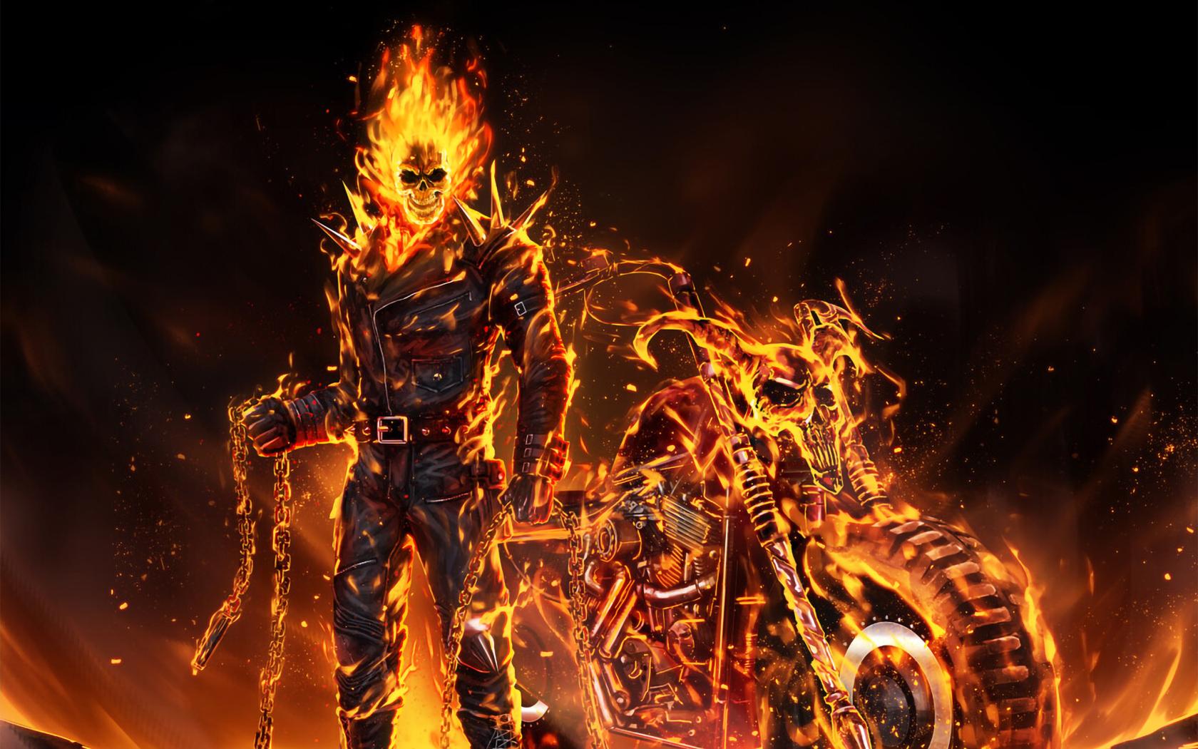 1680x1050 Coolest Ghost Rider 2020 Art 1680x1050 ...