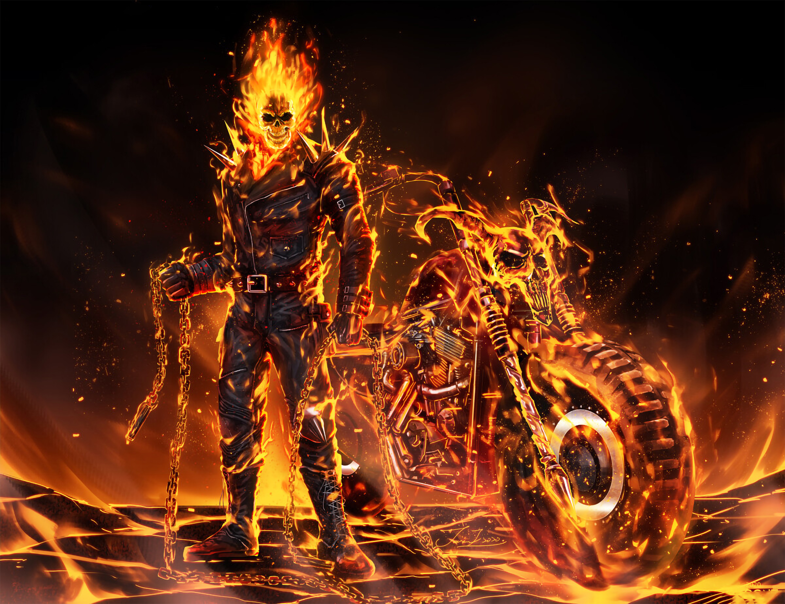 The Best Ghost Rider Images Hd Wallpaper Download Gif