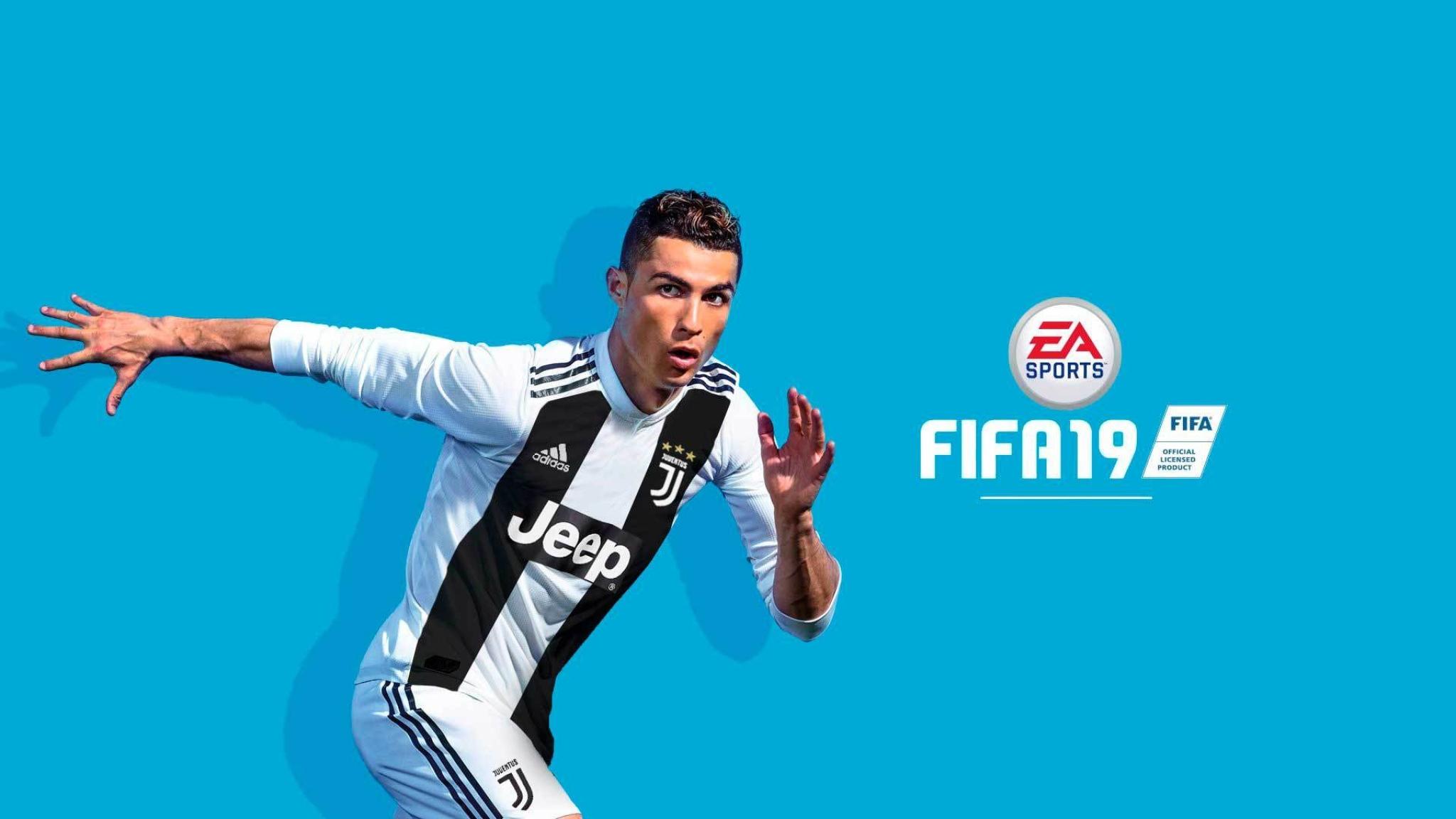 2048x1152 Cristiano Ronaldo FIFA 19