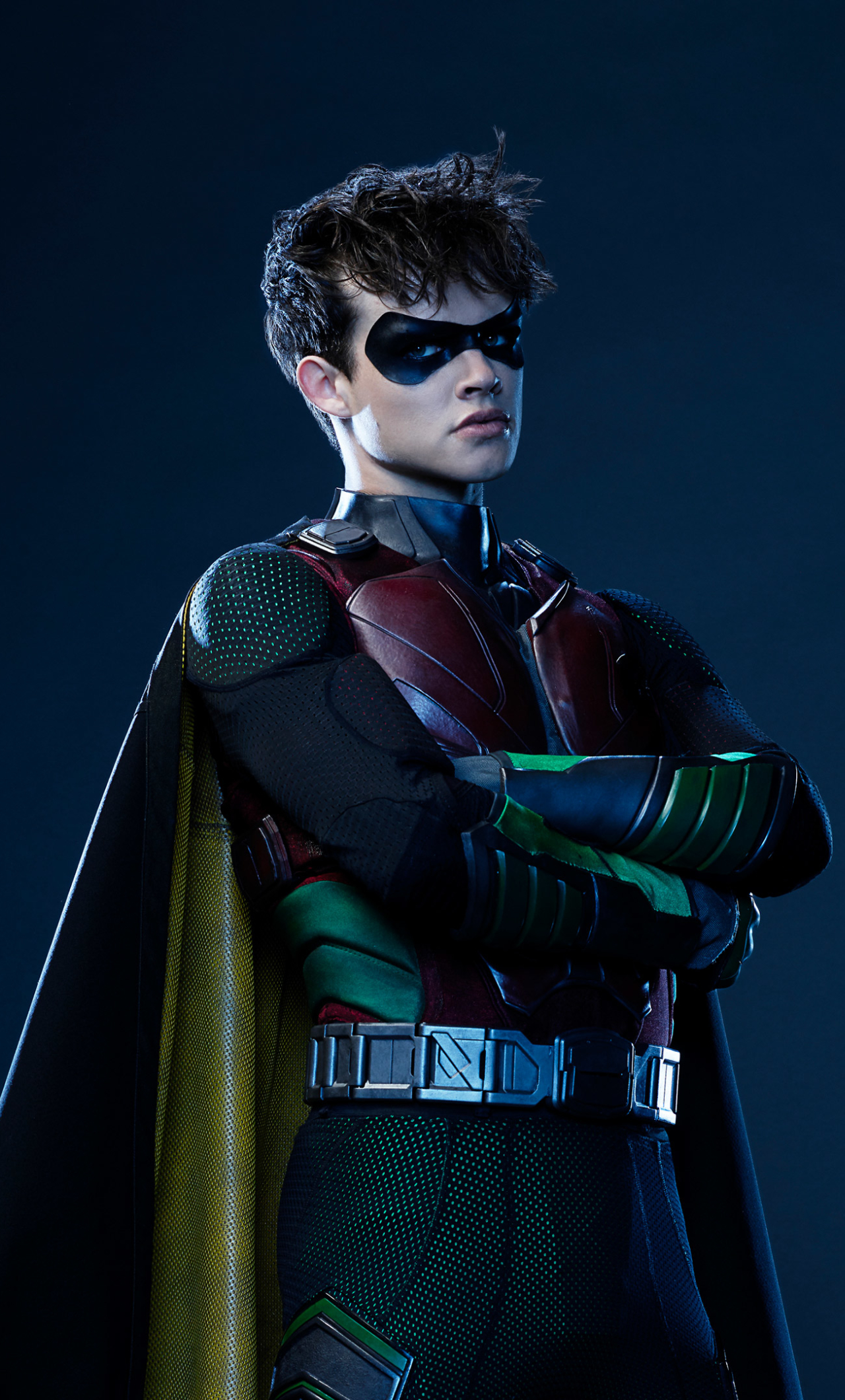 1280x2120 Curran Walters As Robin Iphone 6 Plus Wallpaper Hd Tv Series 4k Wallpapers Images Photos And Background There are new members of the team (sort of) in rose (chelsea zhang) and conner a.k.a superboy (joshua orpin), but we don't get to see them gel with the team either. 1280x2120 curran walters as robin