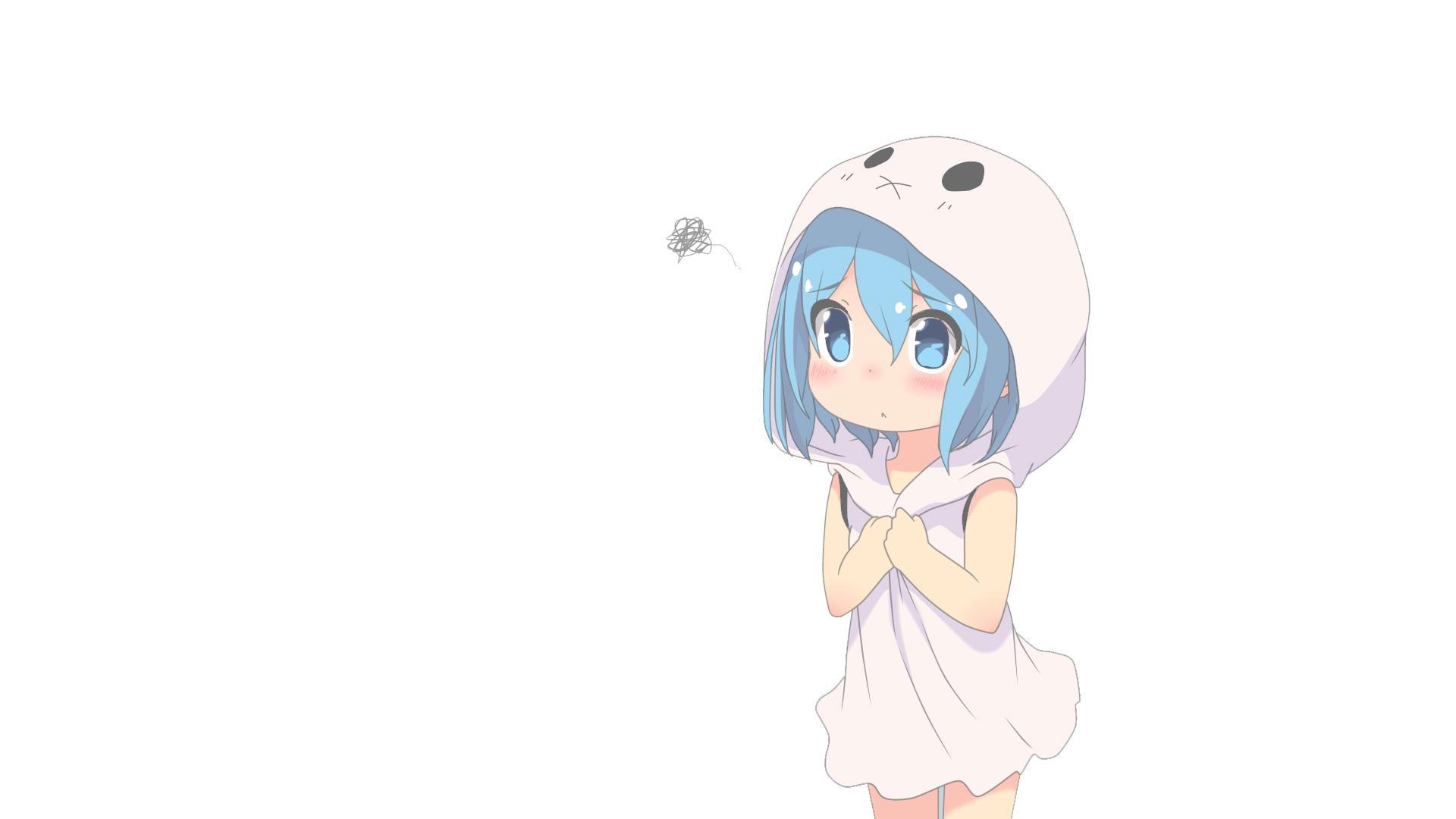 Cute anime little girl full hd wallpaper - Cute anime girl wallpaper ...
