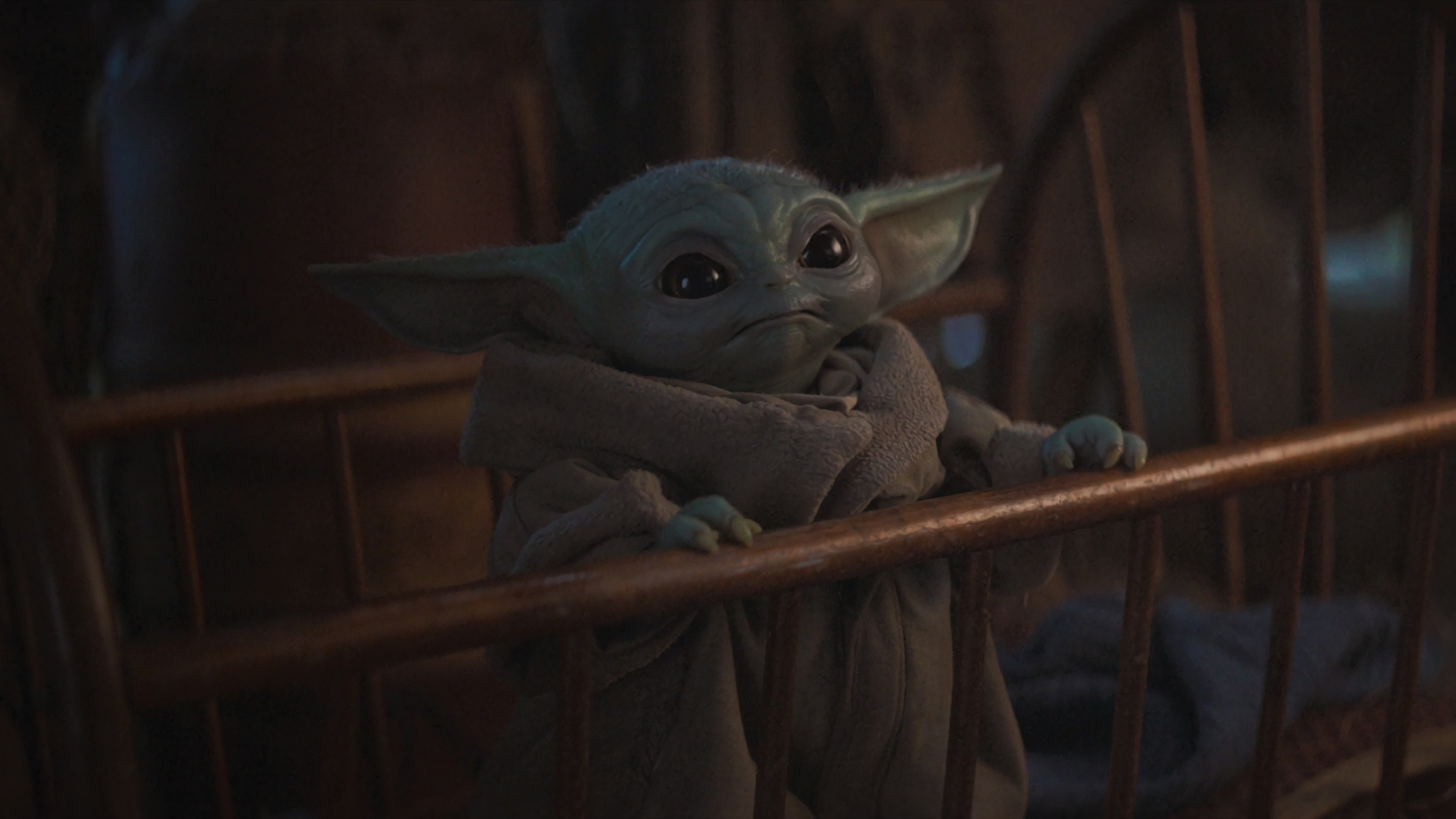 Cute Baby Yoda From Mandalorian Wallpaper Hd Tv Series 4k Wallpapers Images Photos And Background