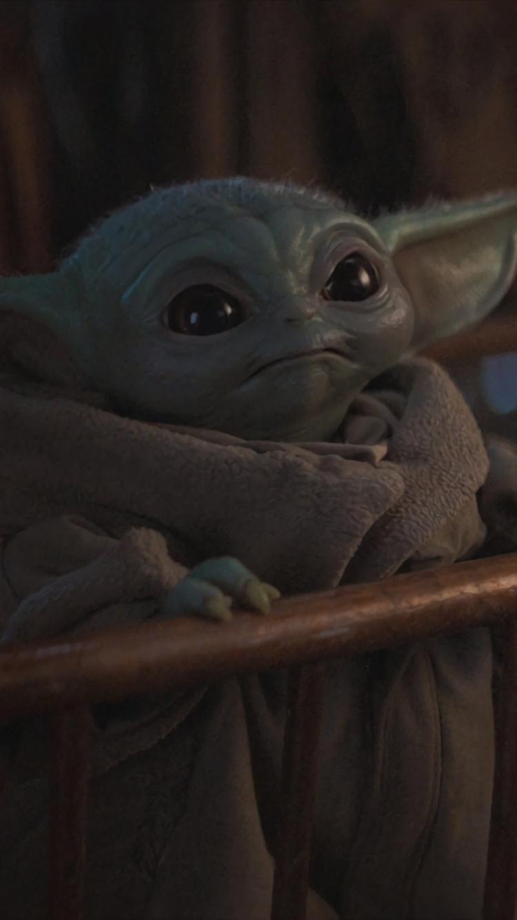 750x1334 Cute Baby Yoda from Mandalorian iPhone 6, iPhone ...