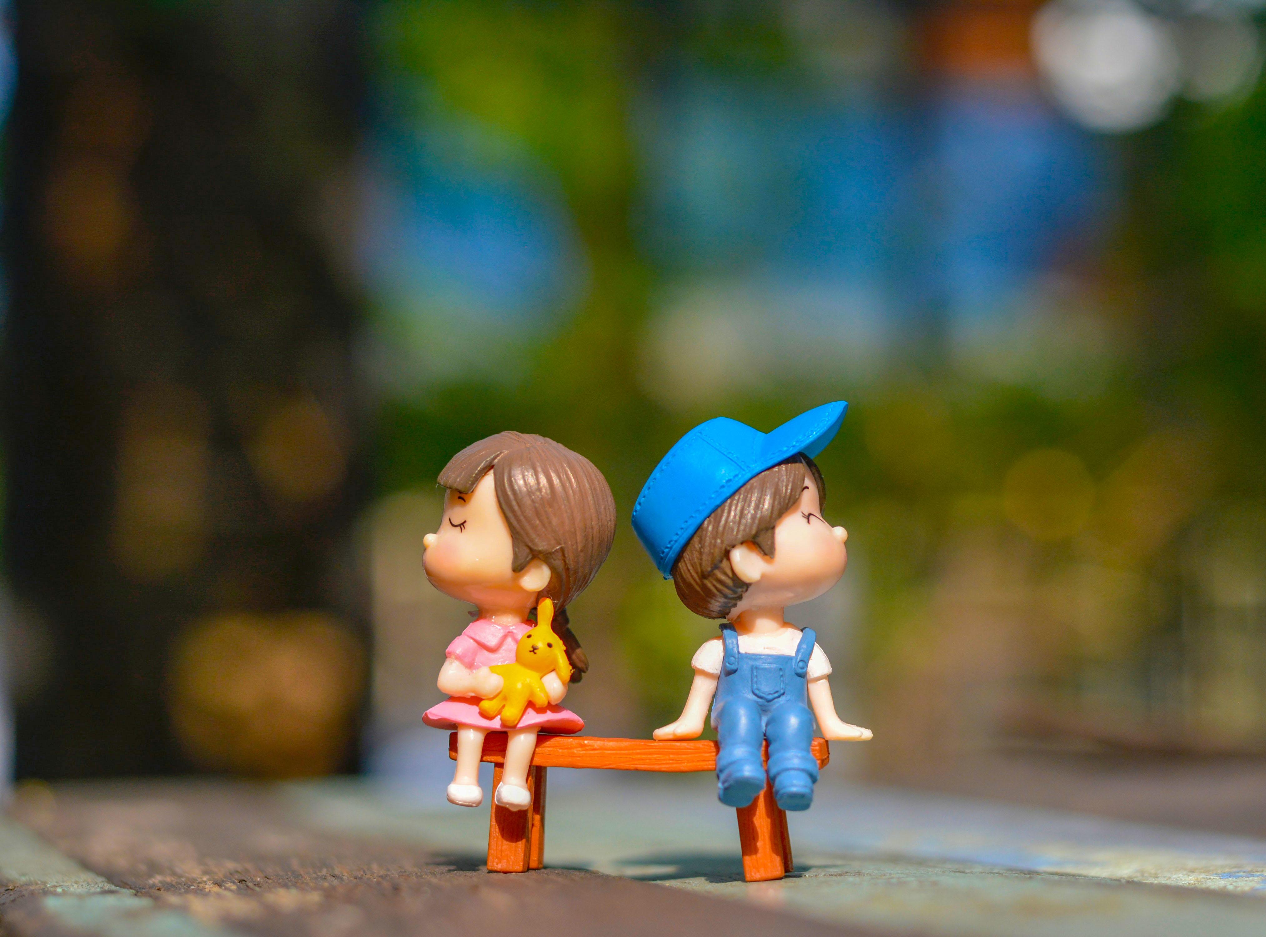 3840x2160 Cute Kid Couple Toy 4k 4K Wallpaper, HD Artist ...