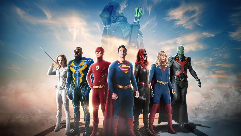 1360x768 CW Dc Universe Superheros 4K Desktop Laptop HD ...